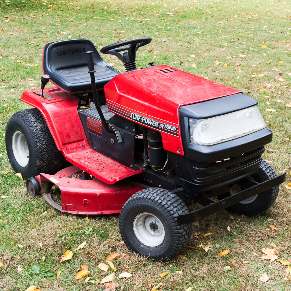 Agway riding lawn mower