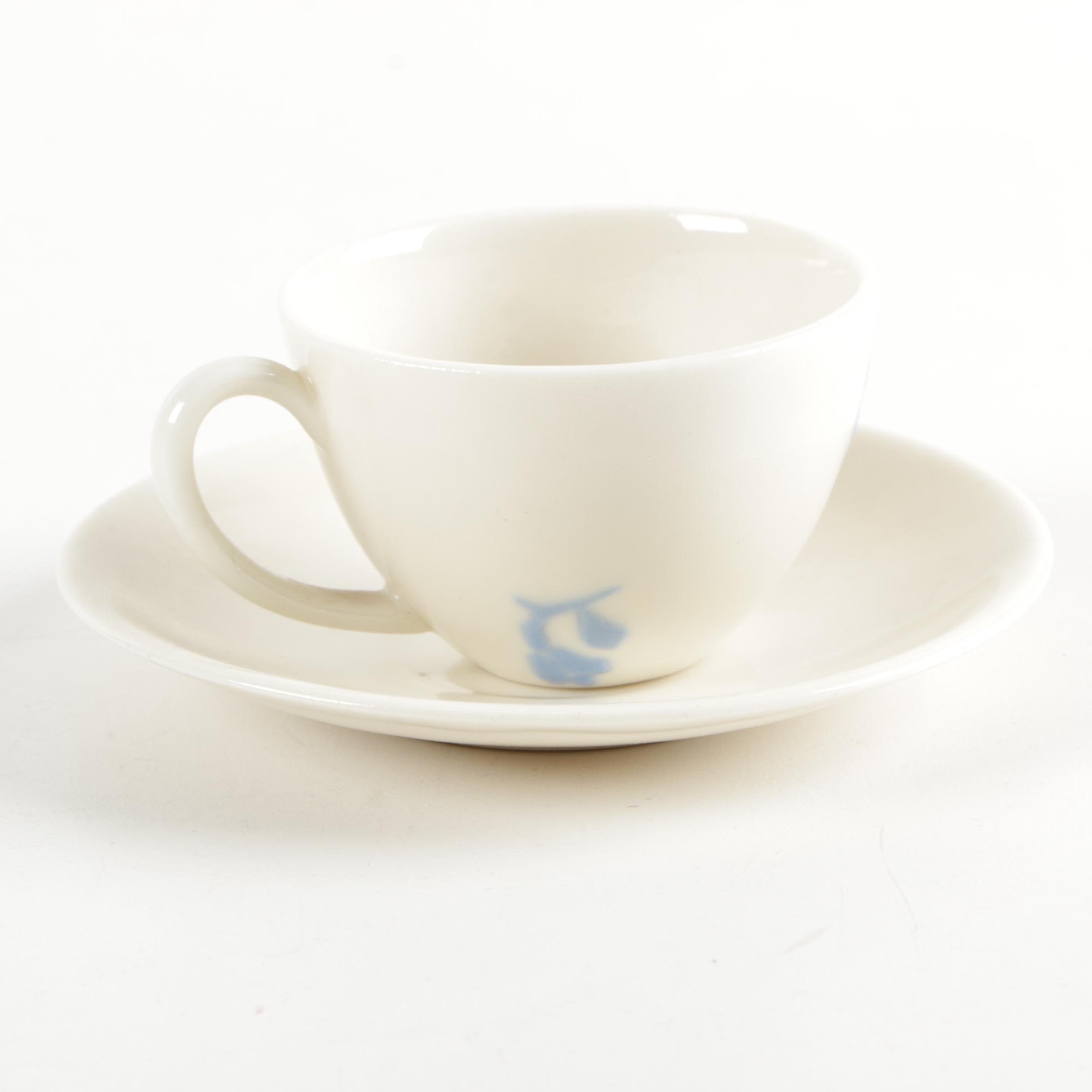Rookwood Pottery Cup and Saucer