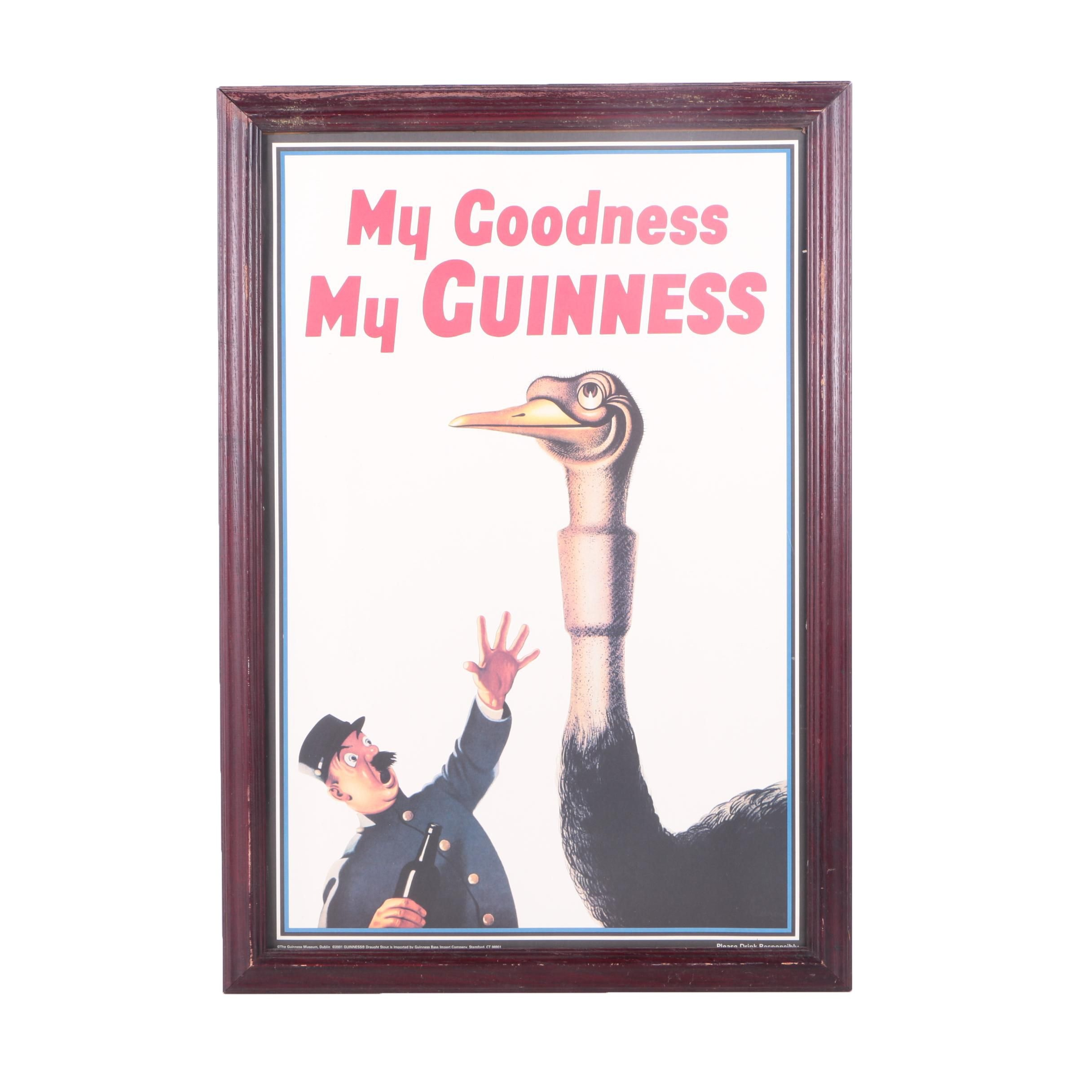 "Offset Lithograph""My Goodness My Guinness"""