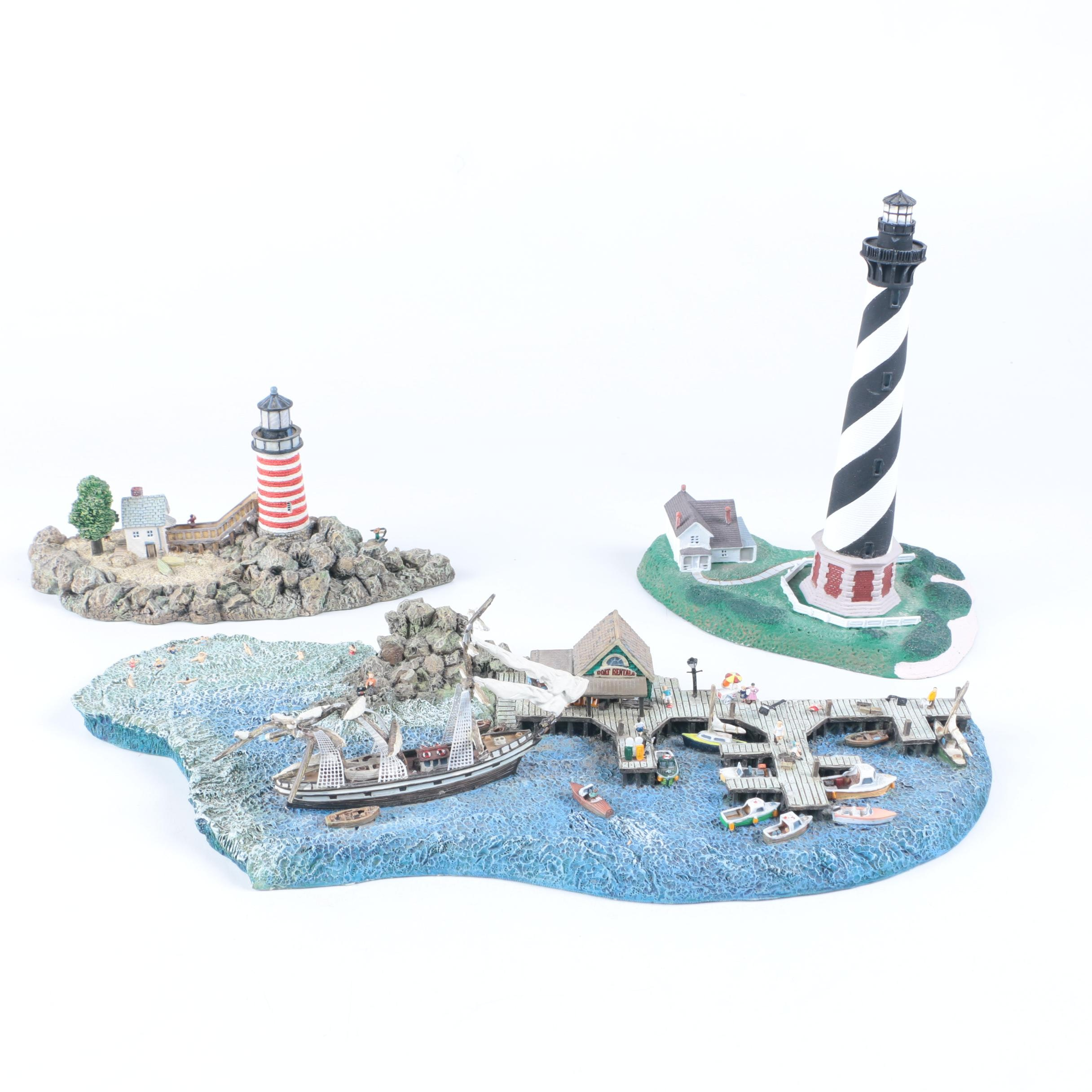 Danbury Mint Historic American Lighthouses Ebth