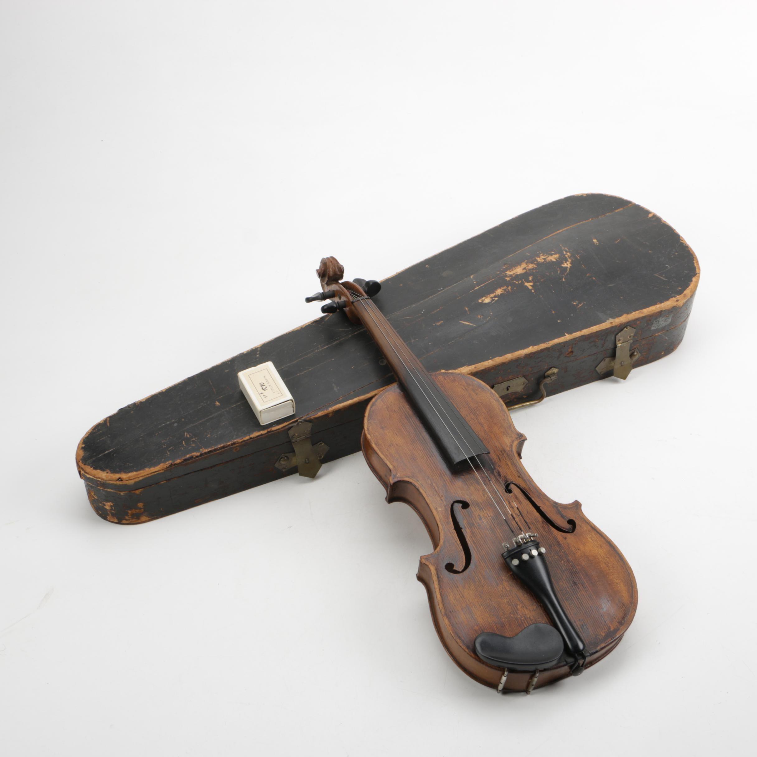 Vintage Violin and Case