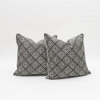 Floral Patterned Throw Pillows