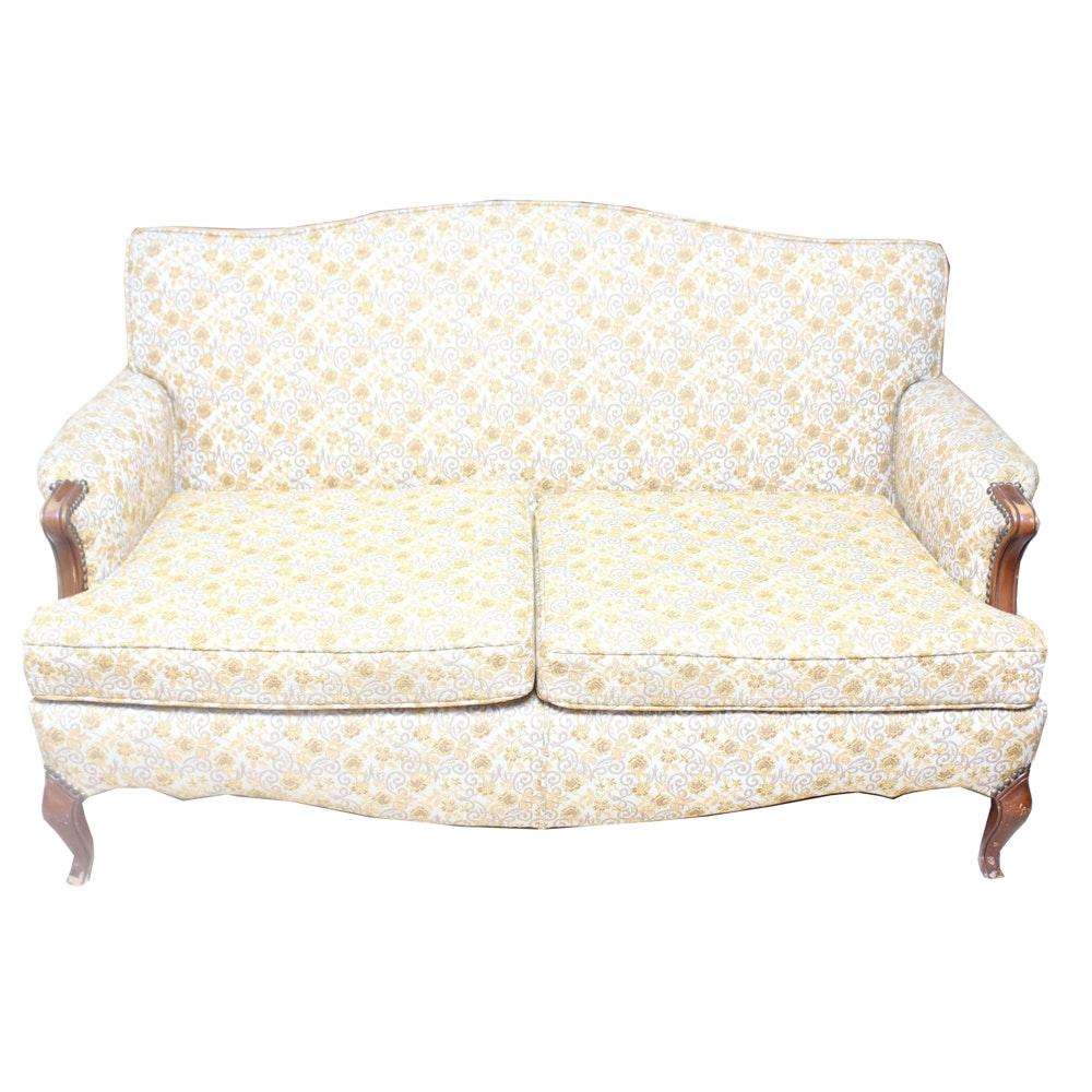 Vintage Upholstered Loveseat