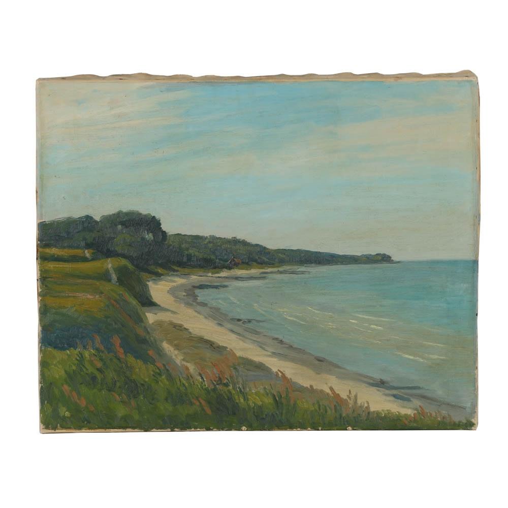 Oil Painting on Canvas Coastal Seascape