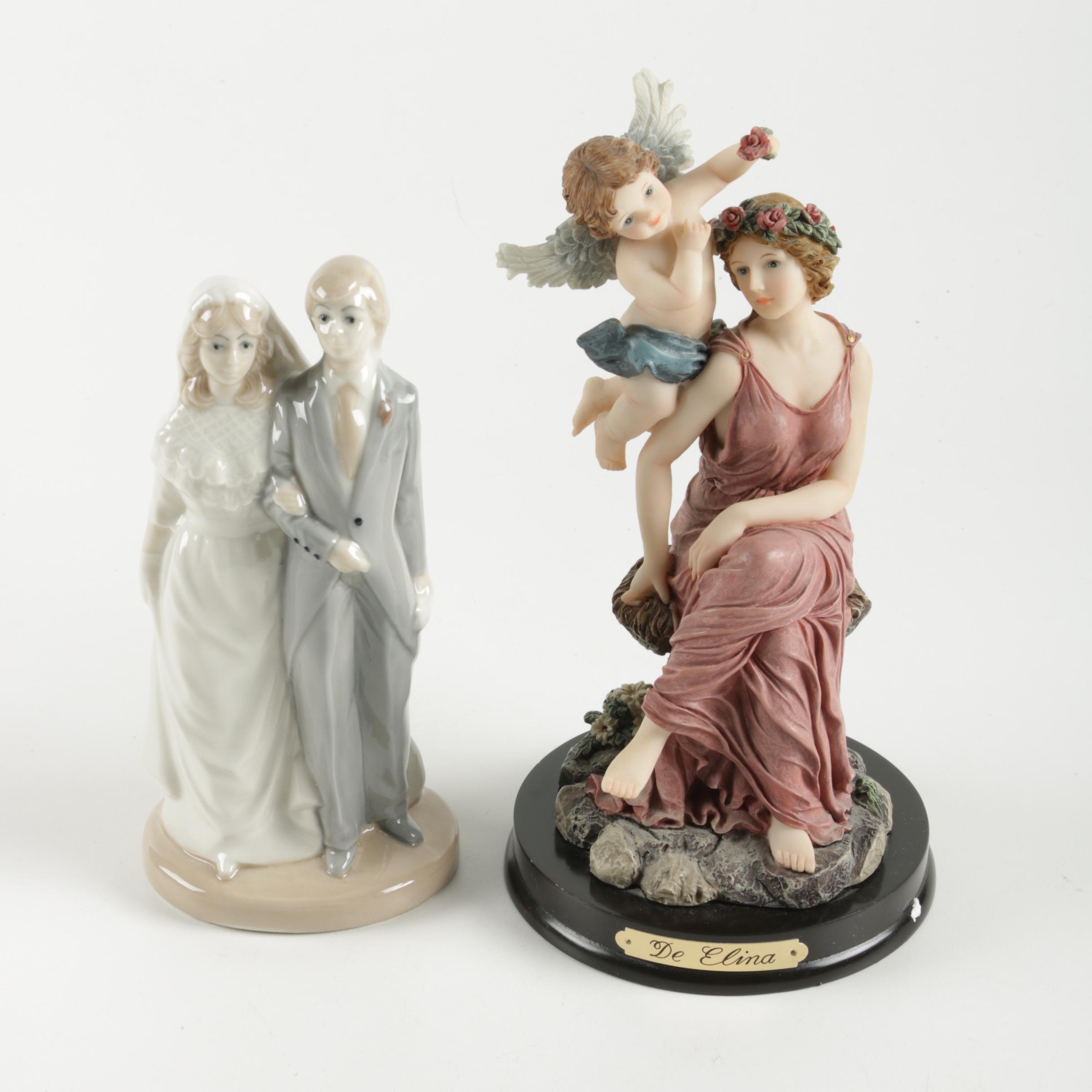 Pair of Ceramic Figurines