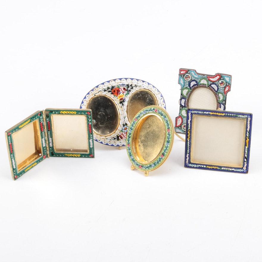 86e97d7e3ed6 Assortment of Italian Mosaic Pictures Frames   EBTH