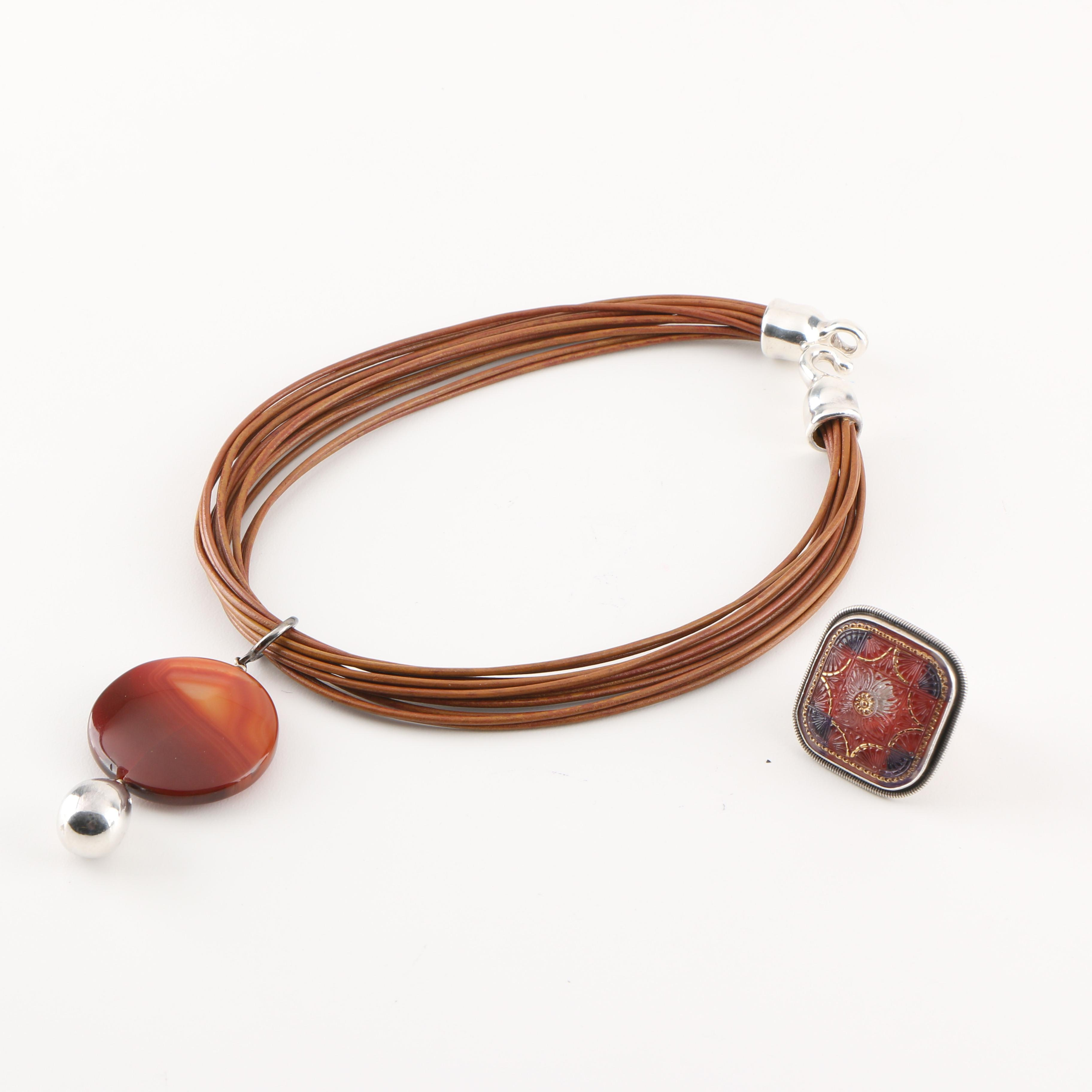 Sterling Silver Pairing Featuring Mars and Valentine
