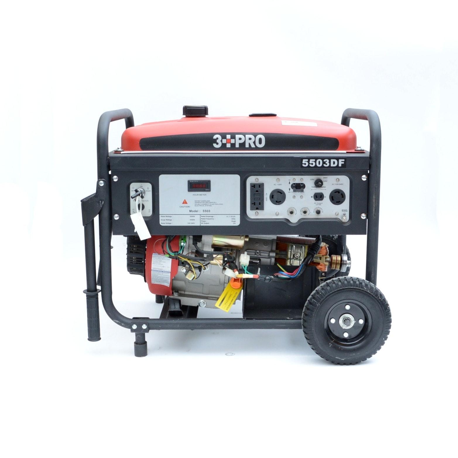 3 PRO Duel Fuel Generator