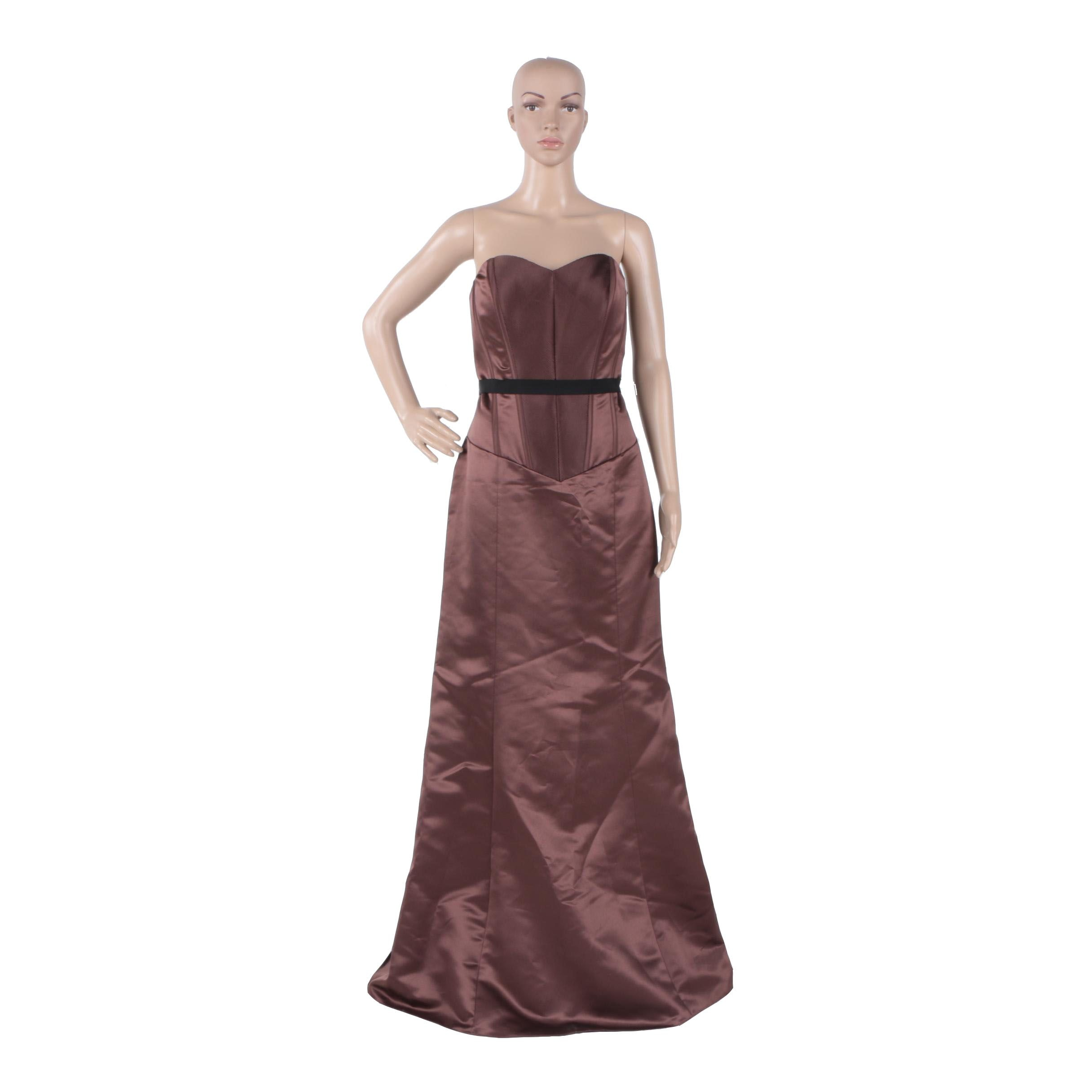 Womens Vera Wang Evening Dress Ebth