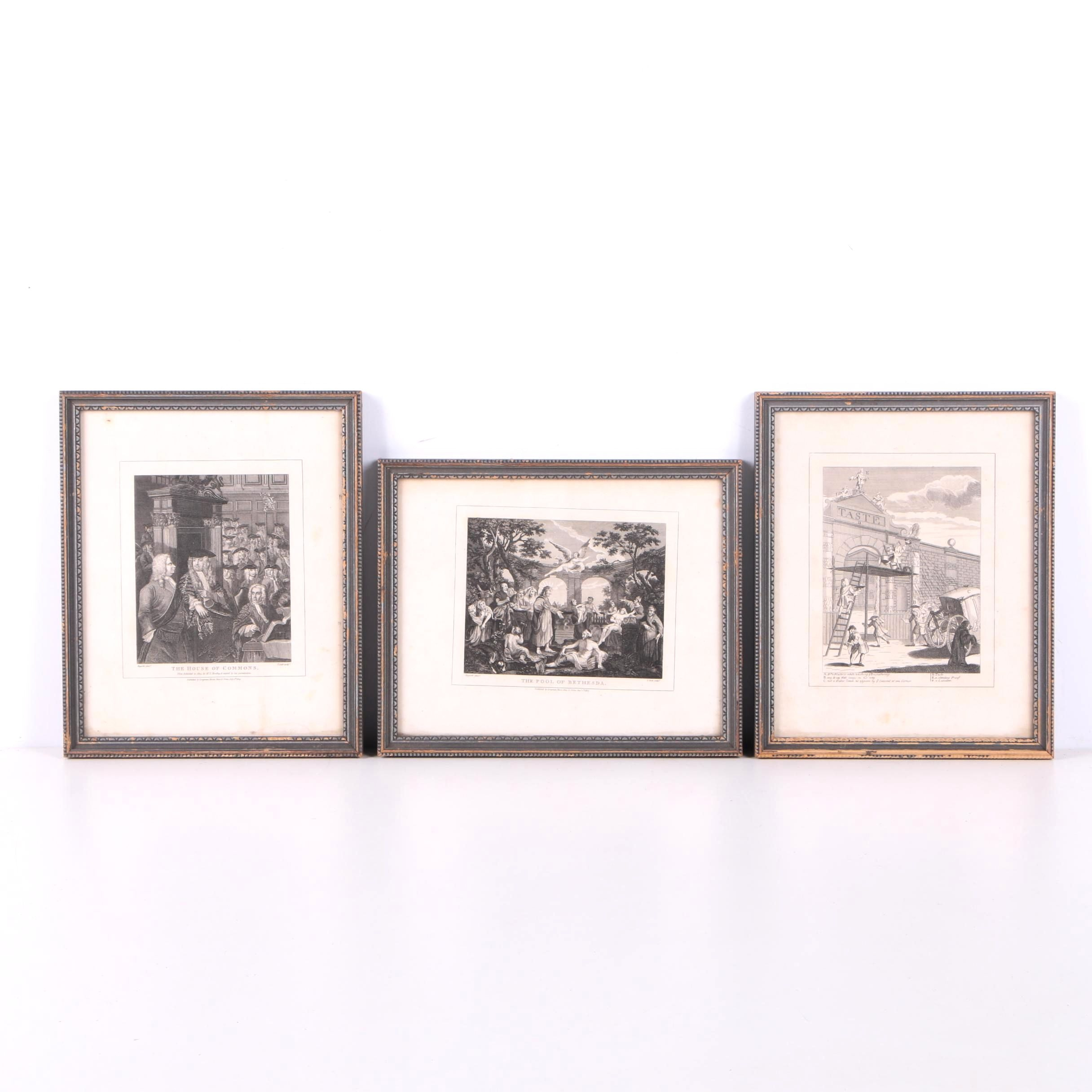 Thomas Cook Engravings on Paper After William Hogarth