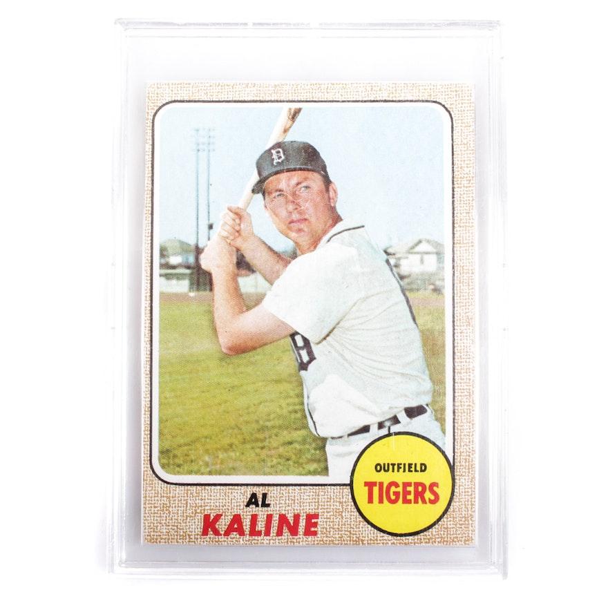 1968 Topps Al Kaline Baseball Card