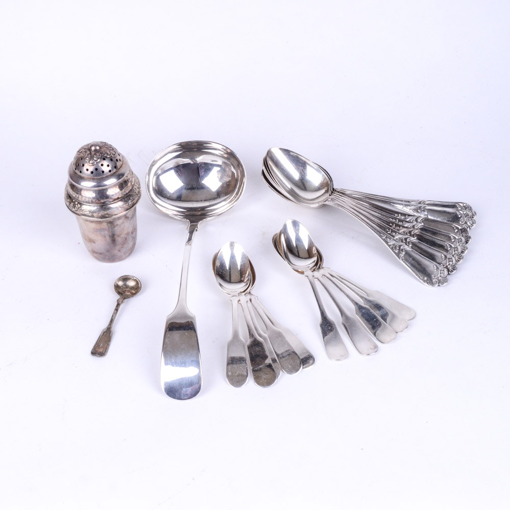 Plated Silver Utensils and More