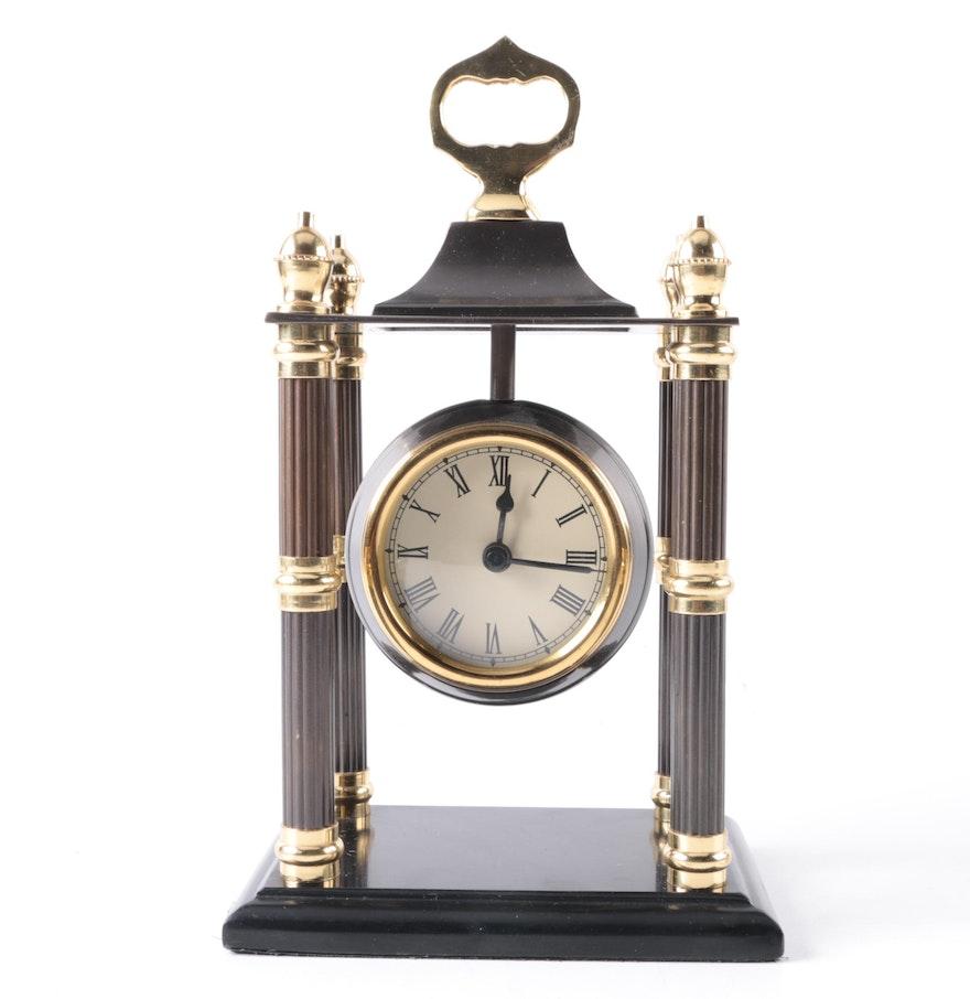 Indian Made Mantel Clock Ebth