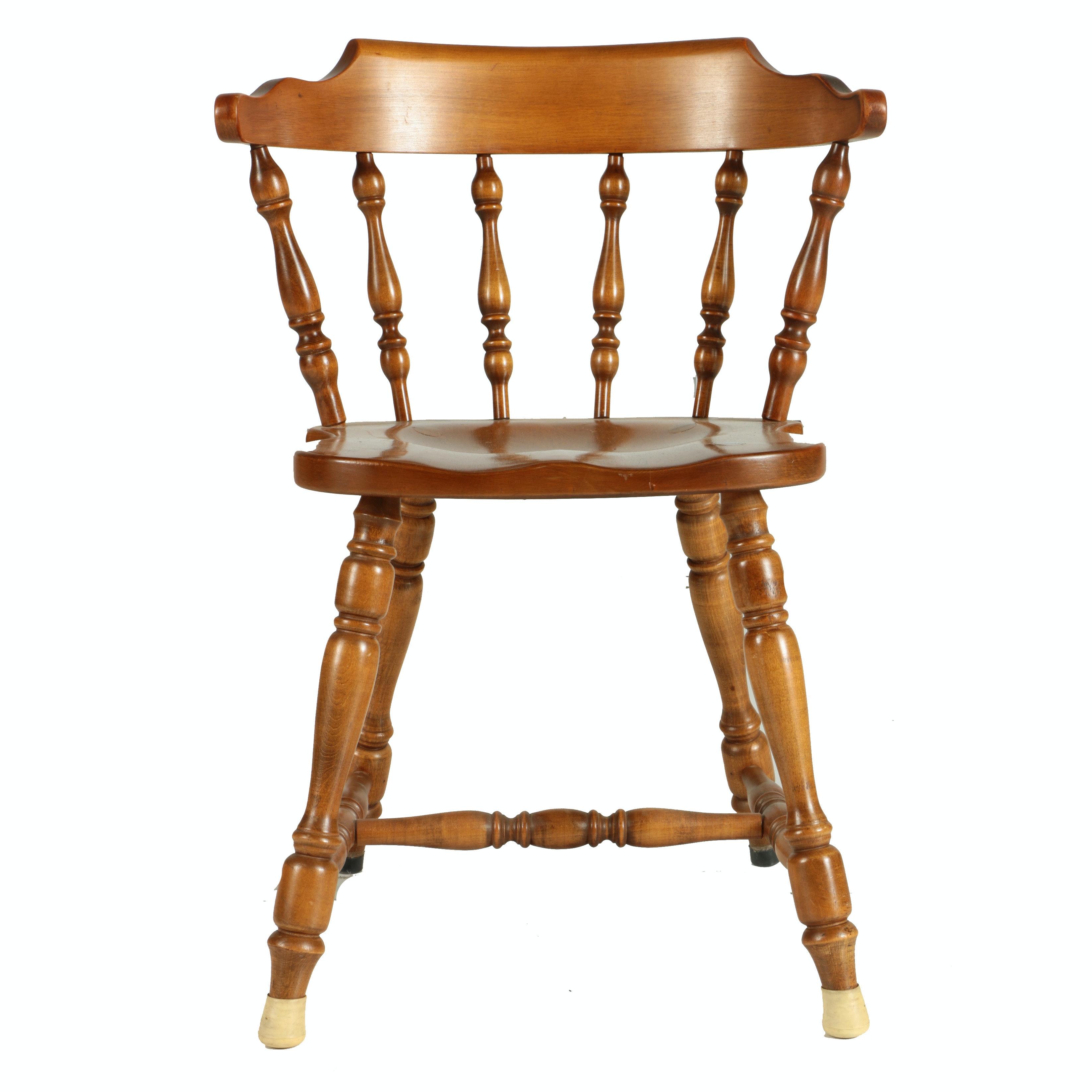 Windsor Style Captain's Chair