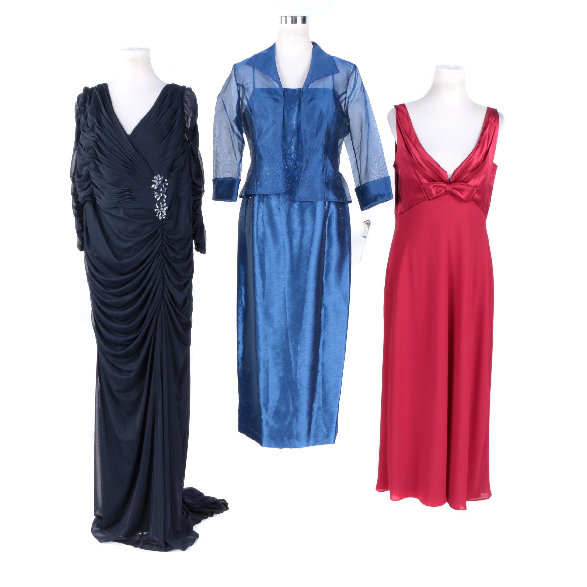 Women's Evening Dresses Including Adrianna Papell