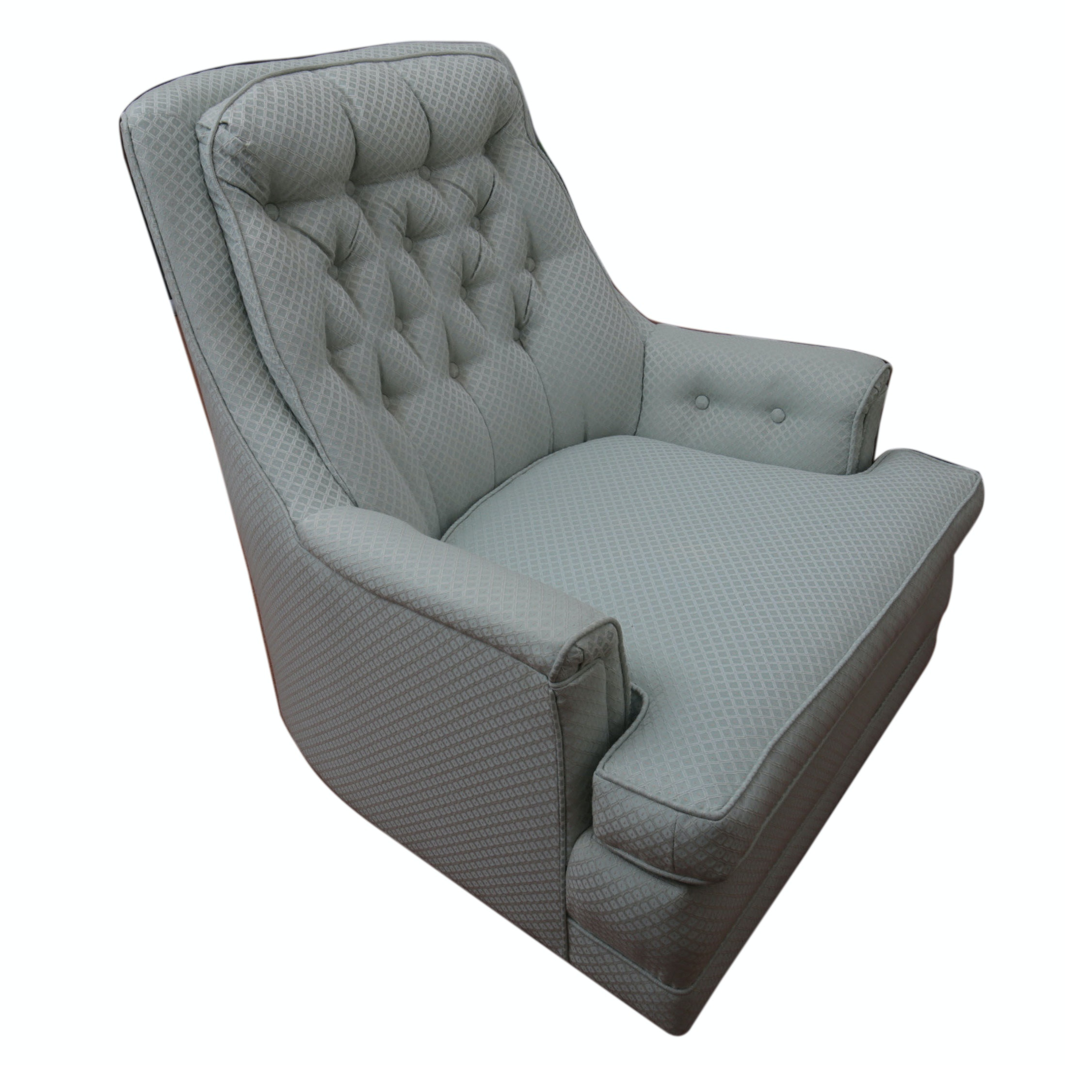 Vintage Upholstered Armchair by Richman Distinctive Interiors