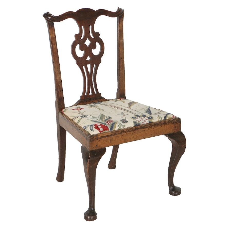 Antique Chippendale Side Chair, Circa 1760-1780 ... - Antique Chippendale Side Chair, Circa 1760-1780 : EBTH