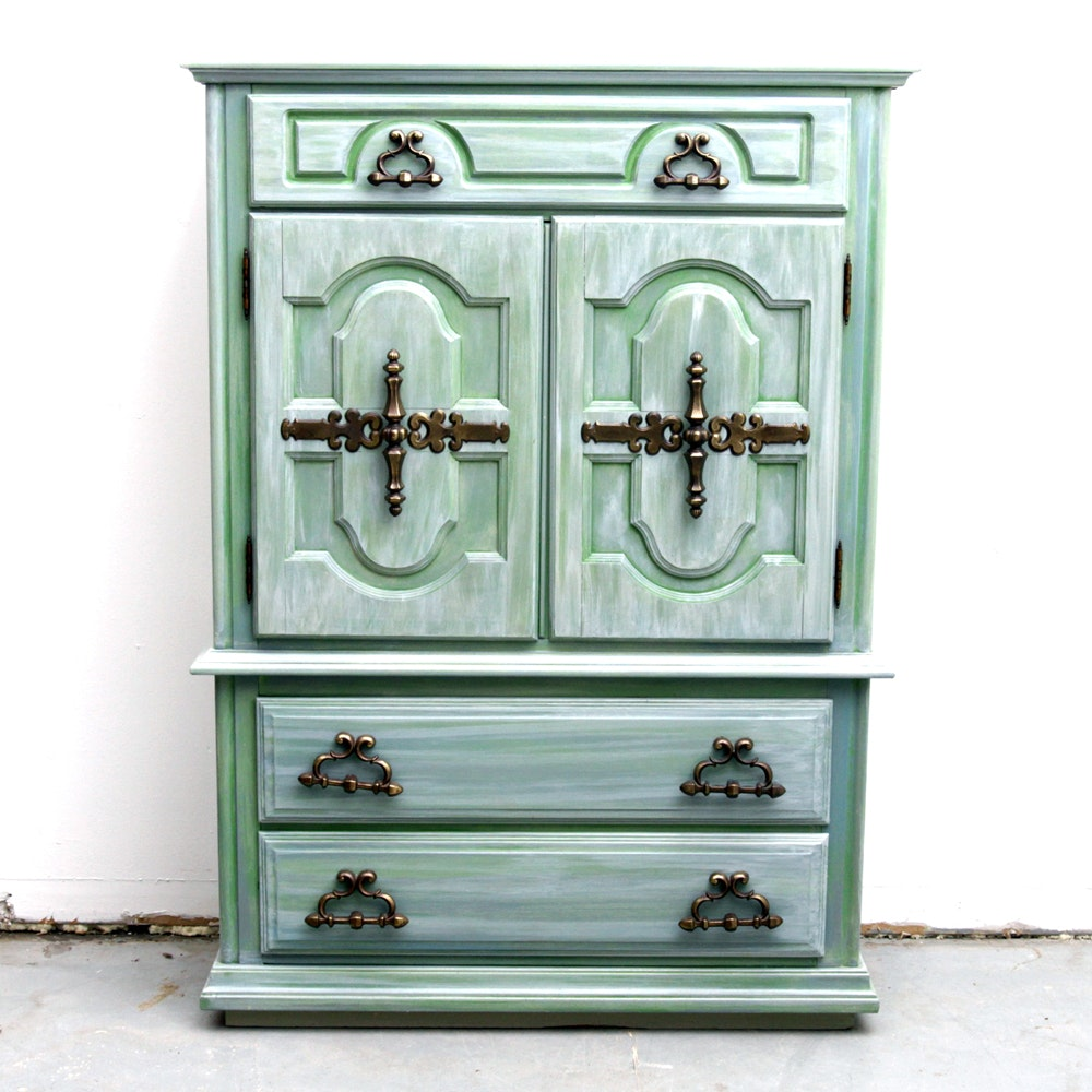 Contemporary Painted Cabinet