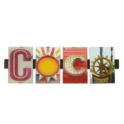 "City Art Photography 2008 Digital Photographic Print Set ""Coco"""