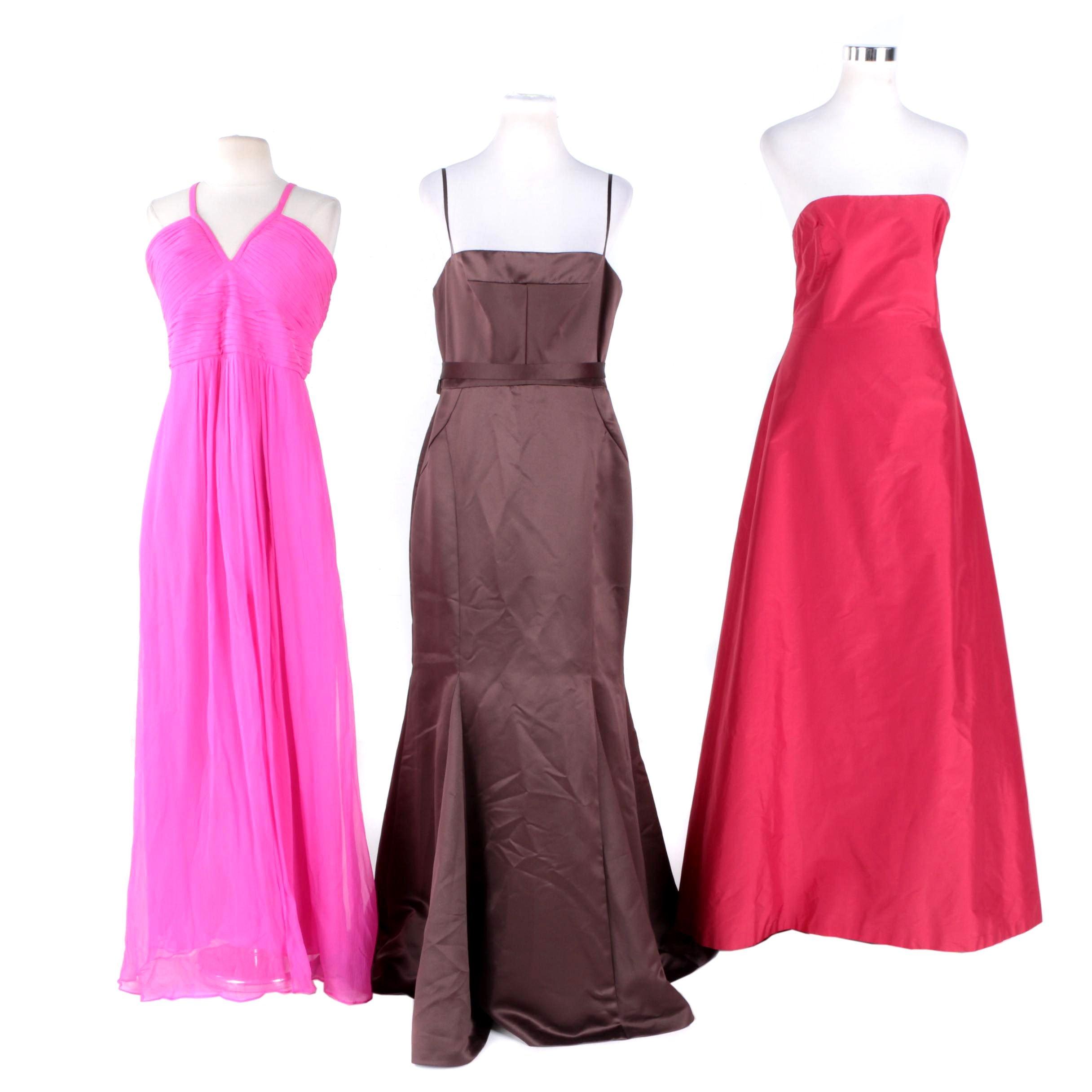 Women's Evening Gowns Including BCBGMAXAZRIA