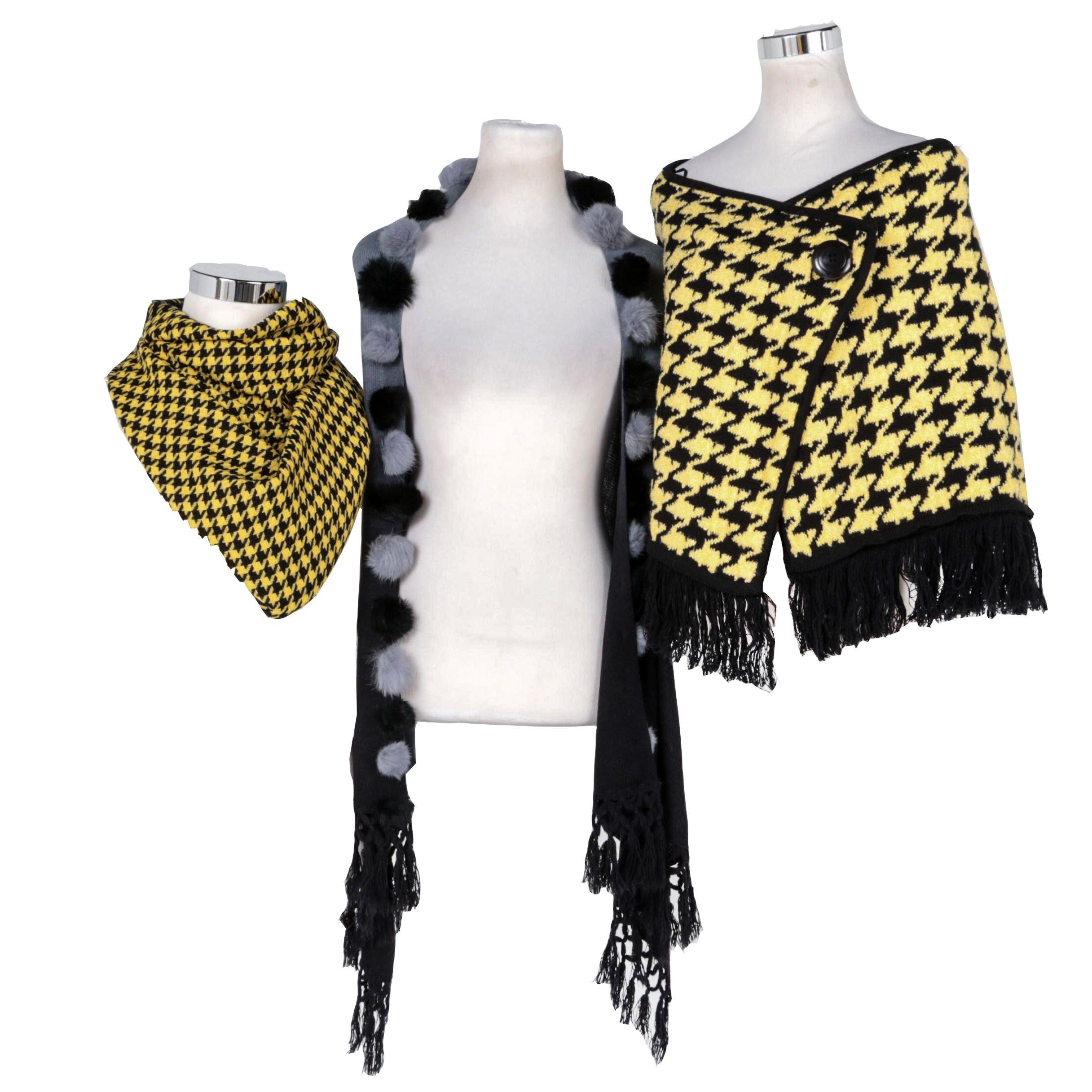 Vintage Scarves and Wraps Including Belamie
