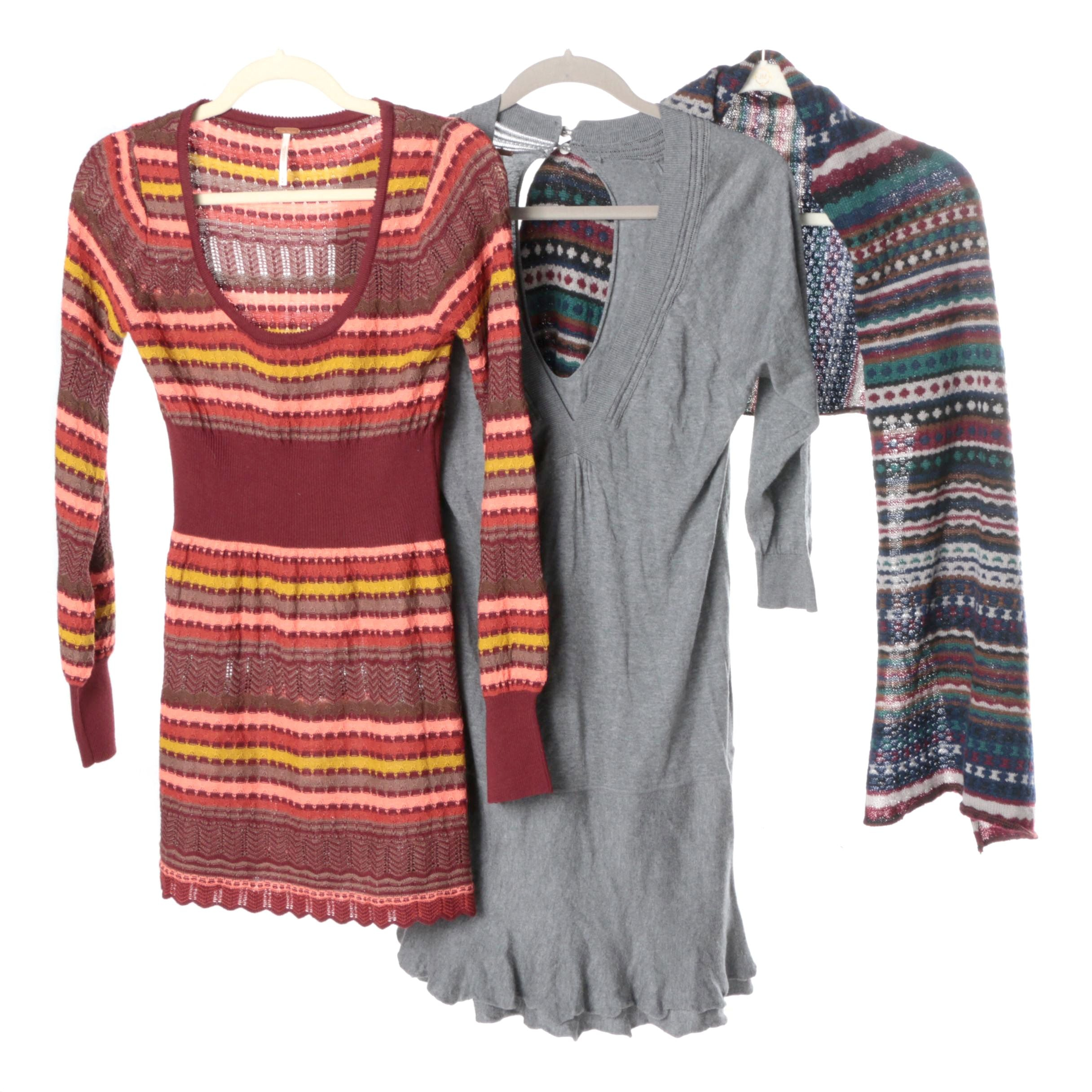 Women's Knit Dresses and Missoni Scarf
