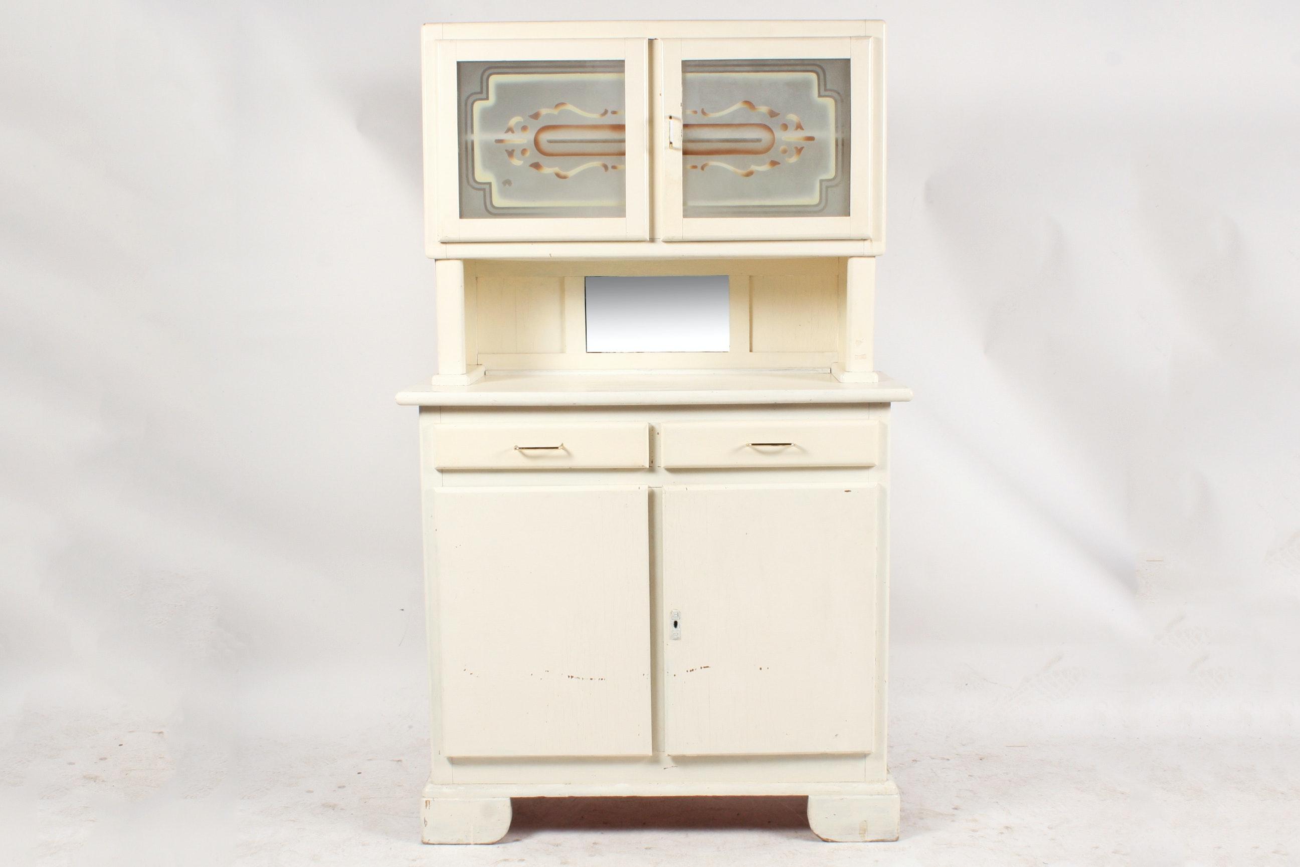 1930s Art Deco Kitchen Cabinet
