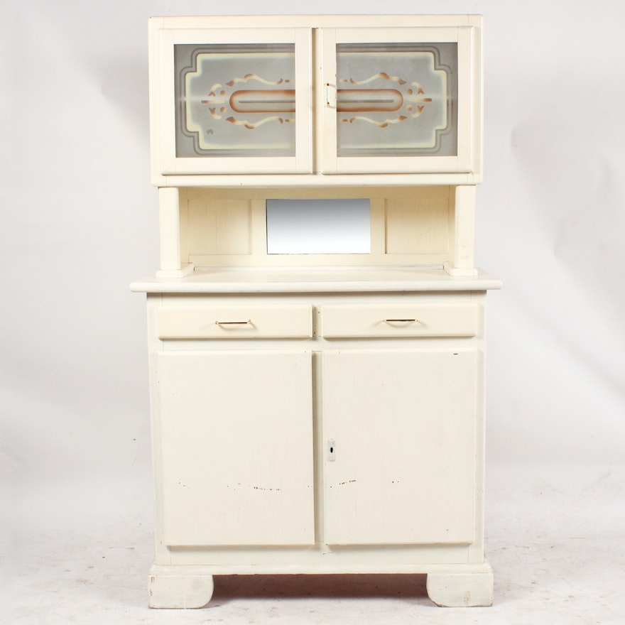 1930s art deco kitchen cabinet