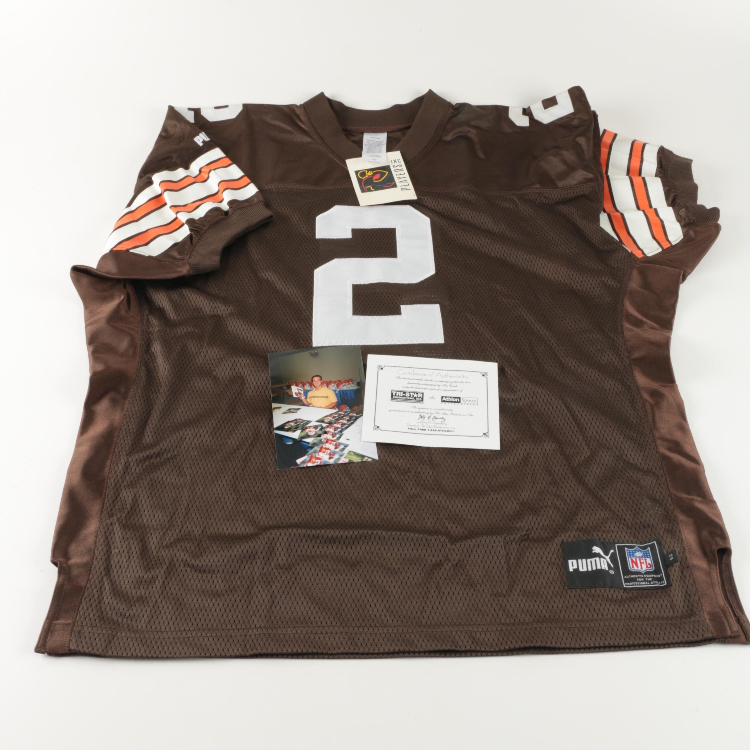 Autographed Tim Couch Jersey