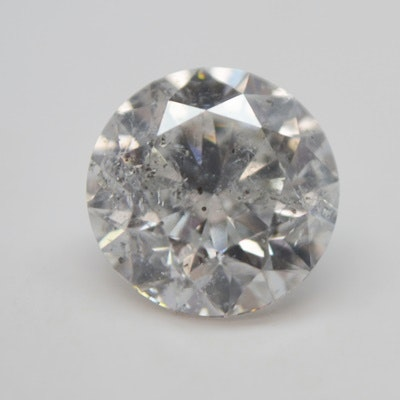 Loose 2.00 CT Round Brilliant Cut Diamond