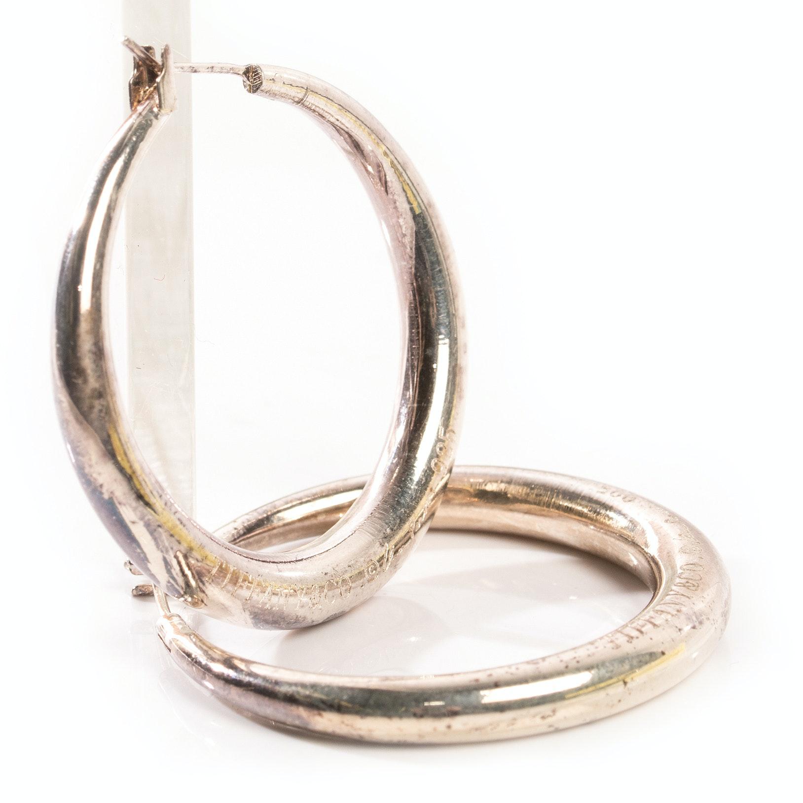 Sterling Silver Elsa Peretti for Tiffany & Co. Earrings
