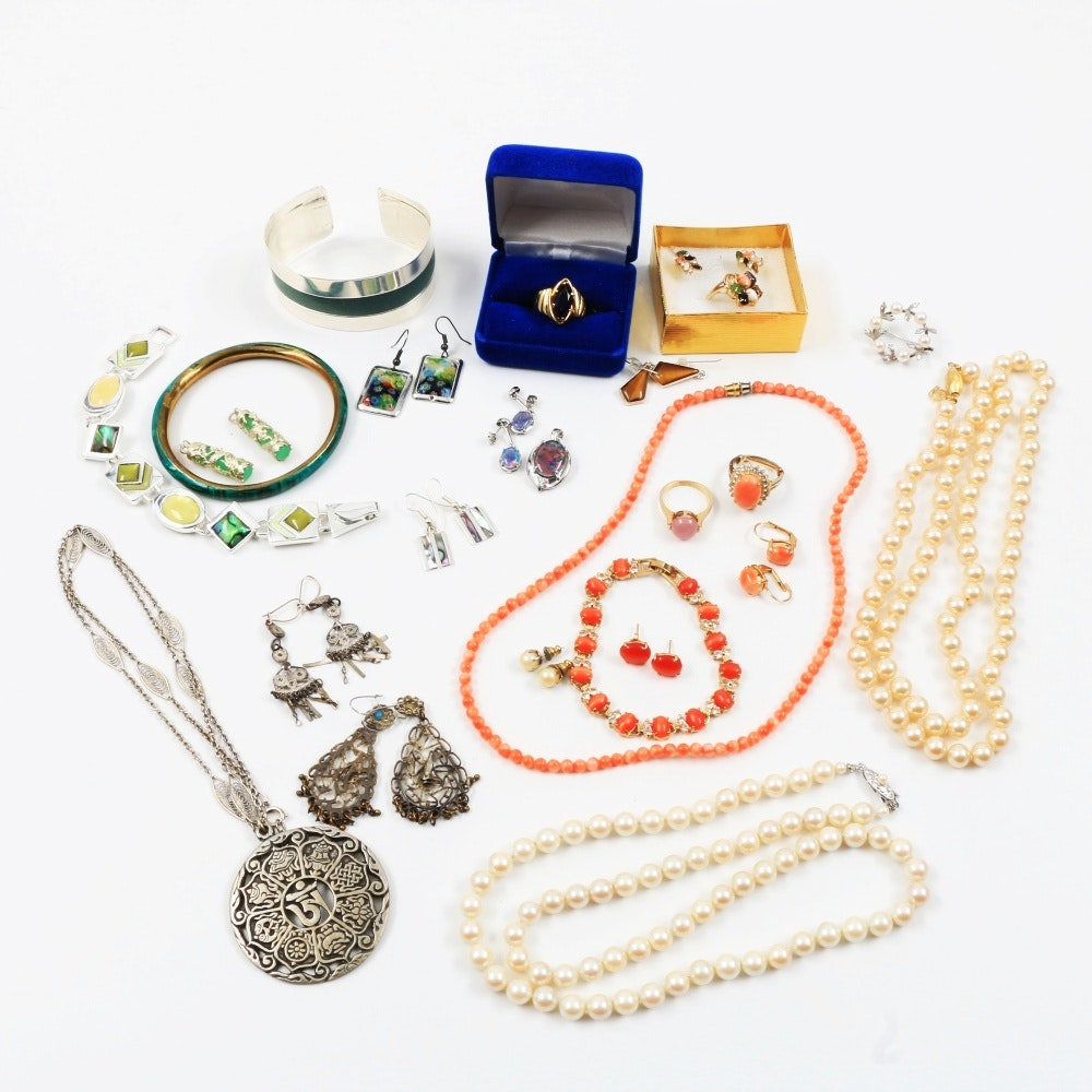 Plethora of Costume Jewelry
