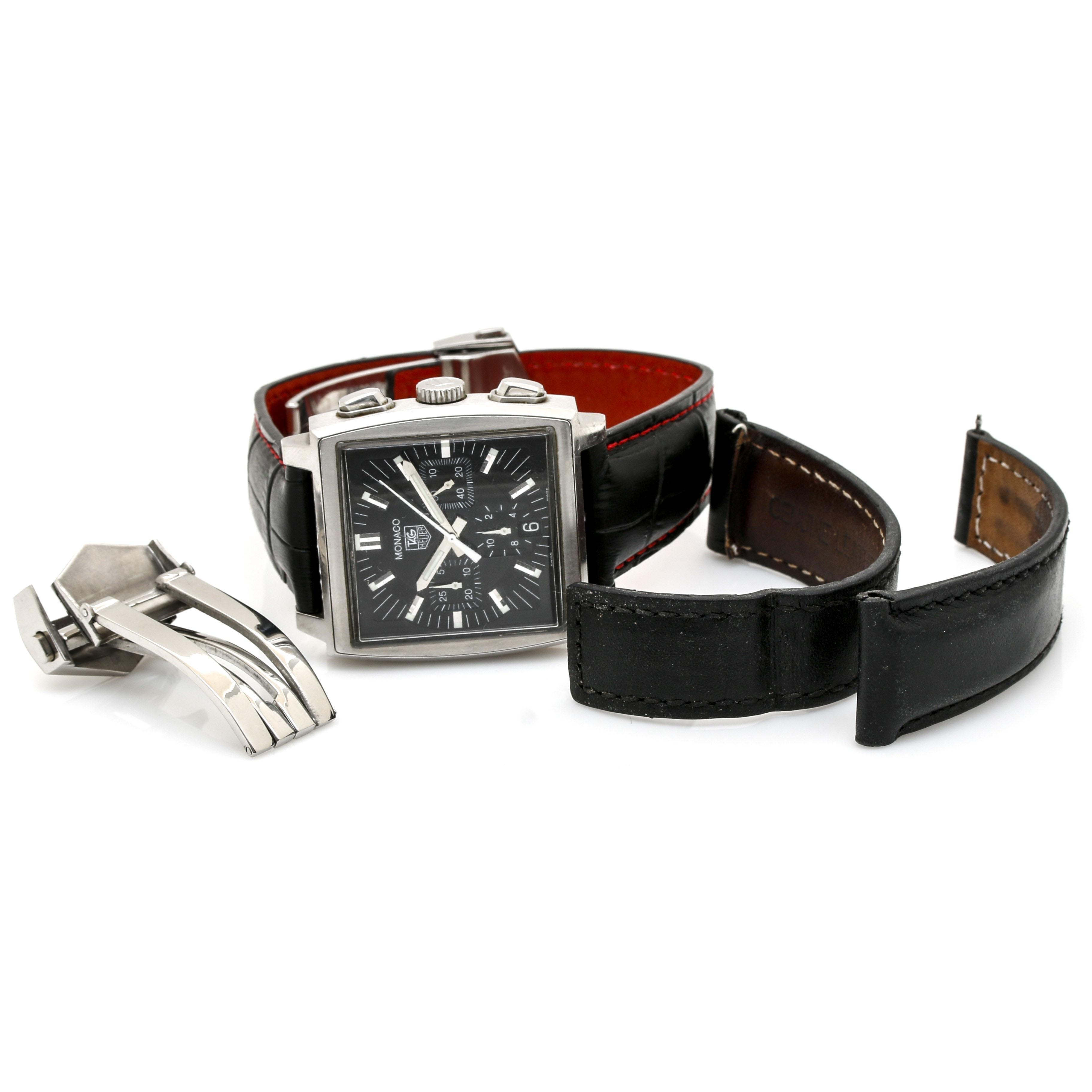TAG Heuer Monaco Stainless Steel Wristwatch