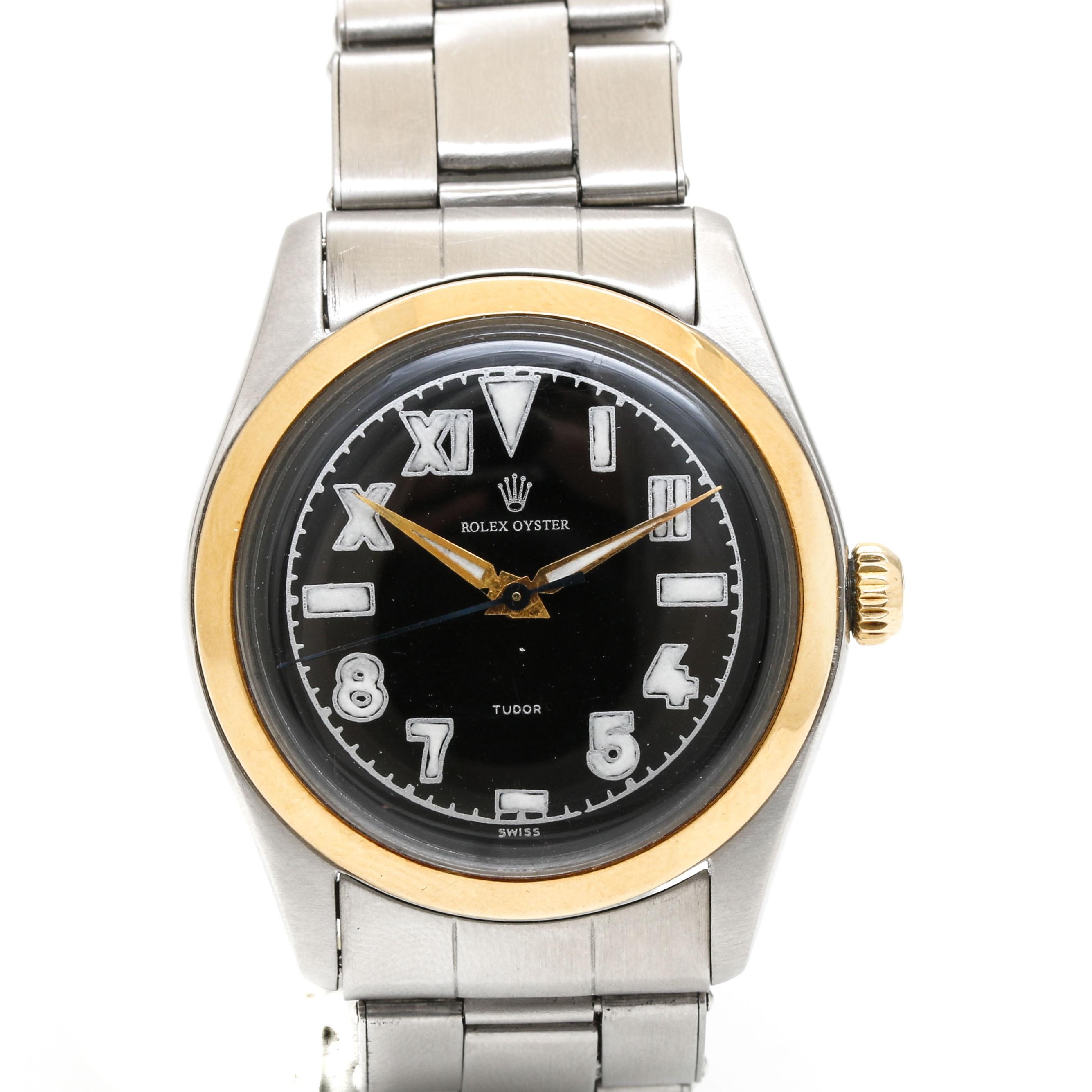 Rolex Oyster Stainless Steel Wristwatch
