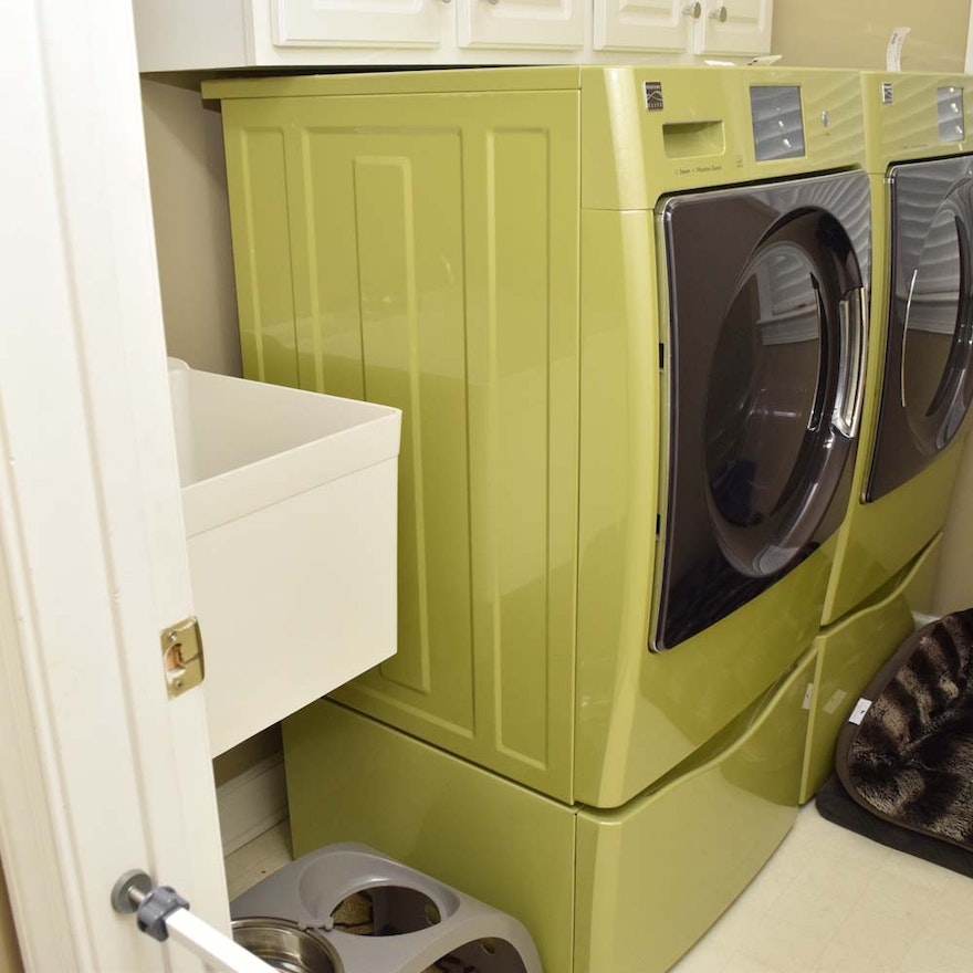 appliances item lawrenceville in pedestal w load washer kenmore detail quiet ga offerup front dryer electric