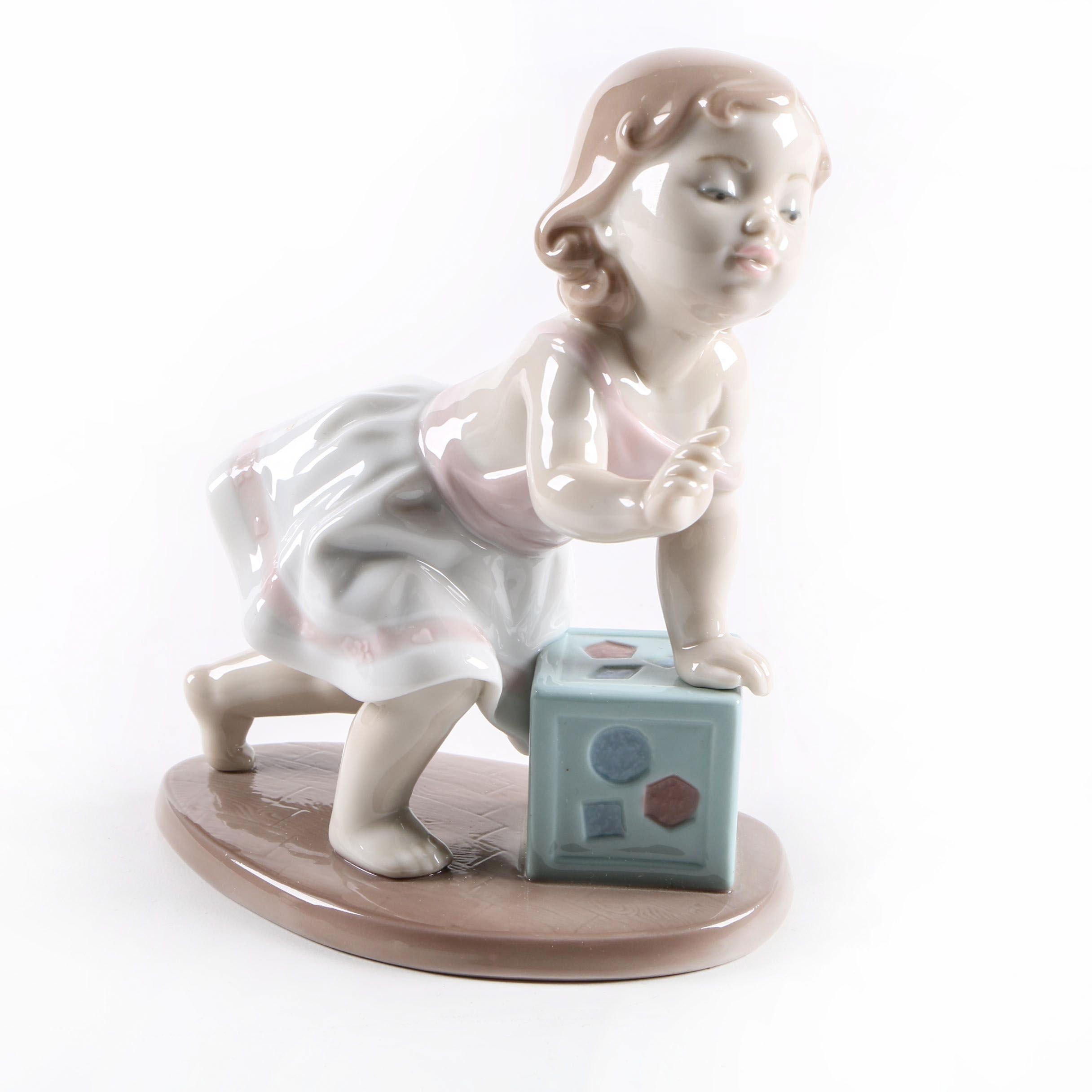 "Lladro ""My First Step"" Figurine"