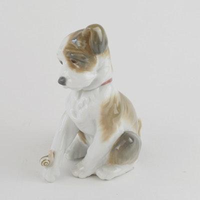"Lladró ""New Friend"" Porcelain Figurine"