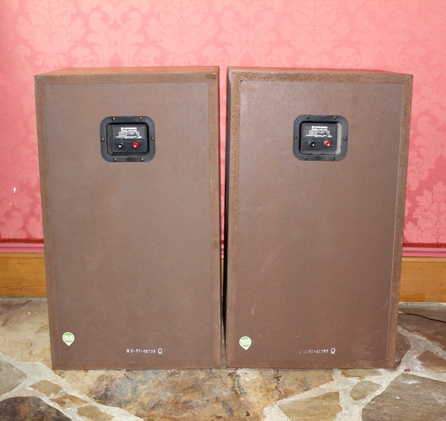 Vintage 200 watt pioneer hpm 100 floor speakers ebth for 100 floor 39