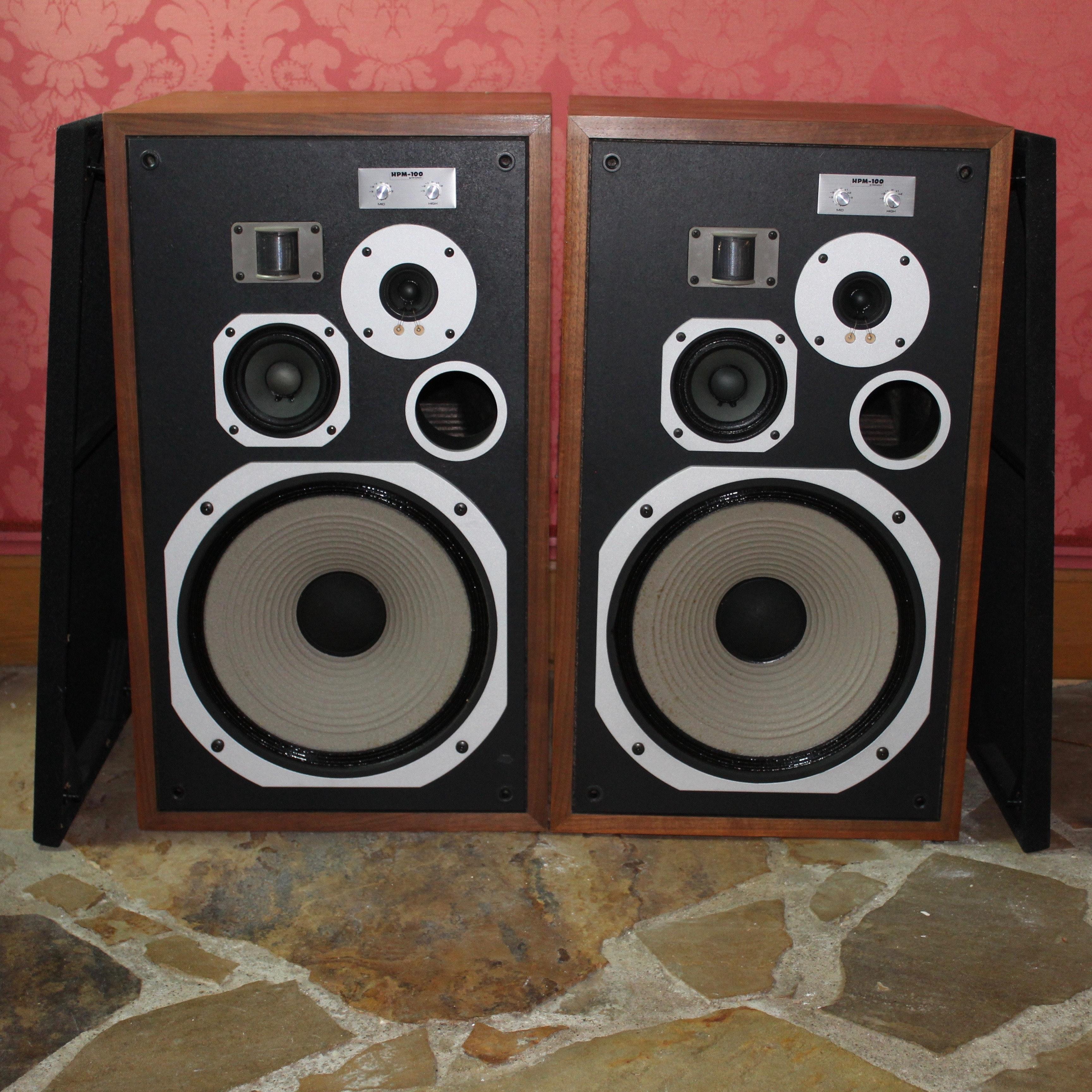 Vintage Pioneer HPM-100 Floor Speakers 200 Watt Versions