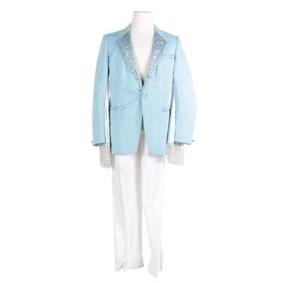 """""""Vote 4 David"""" Suit Given to David Arquette on """"The Ellen DeGeneres Show"""""""
