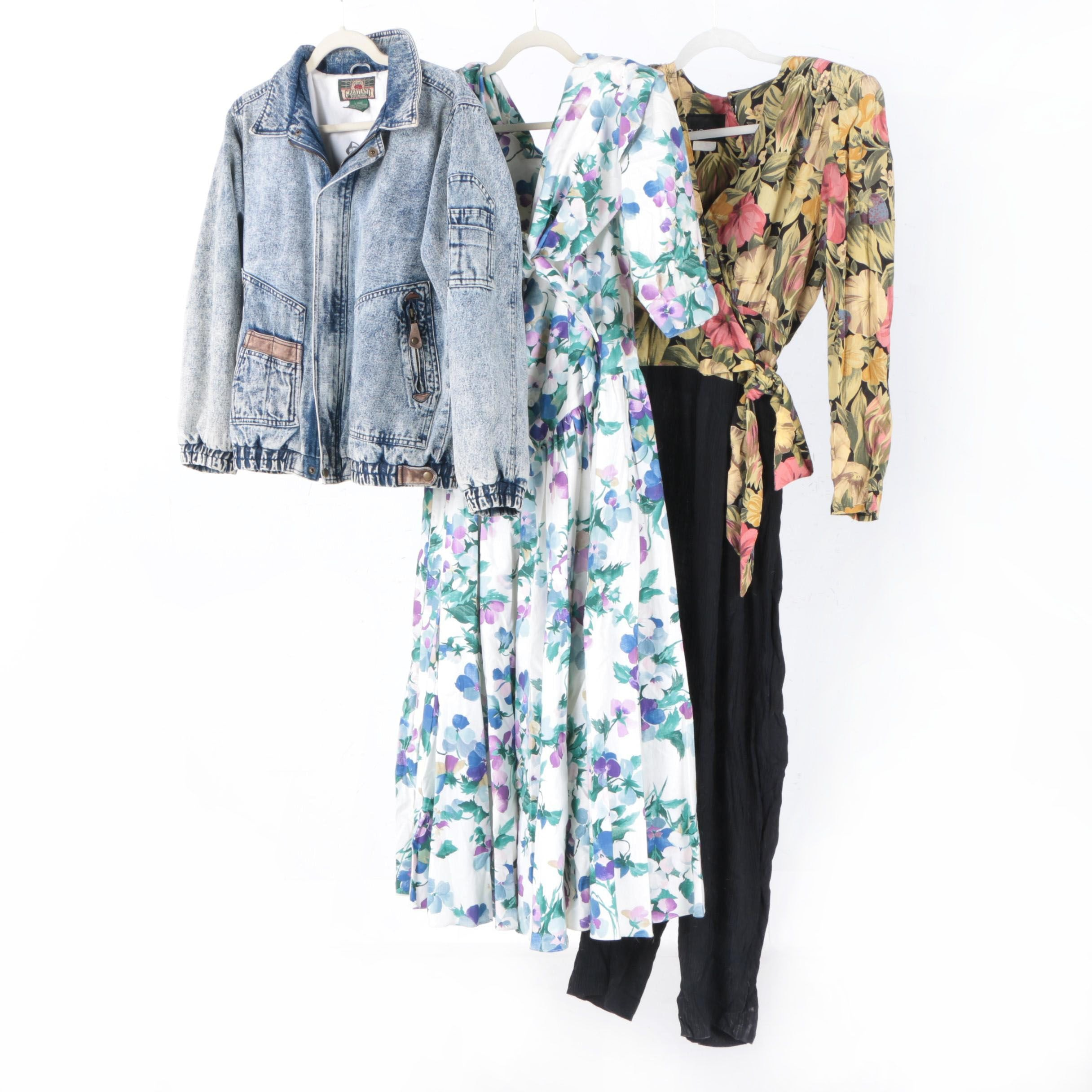 Women's Vintage Clothing Including Greatland Touring