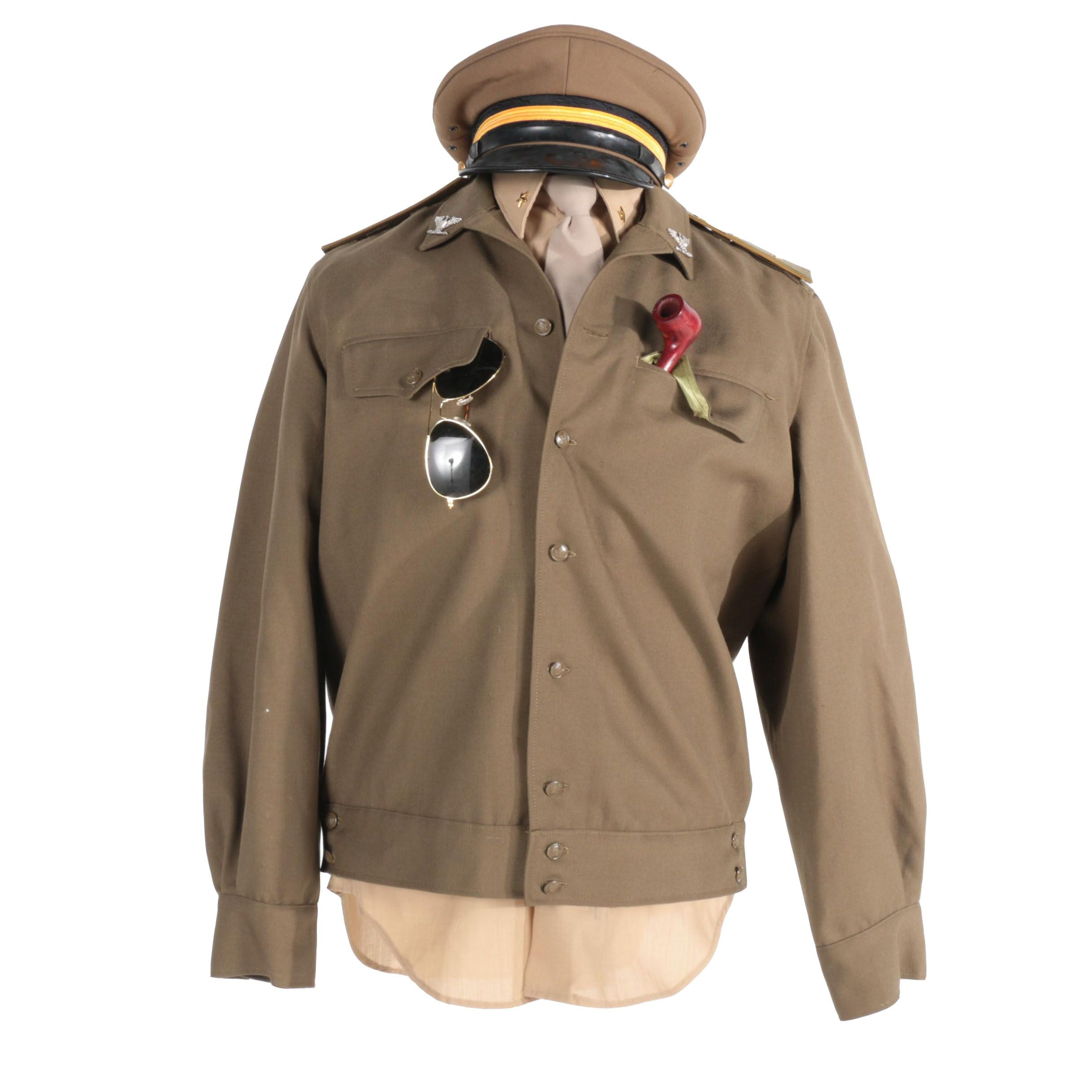 Vintage Military Apparel with Accessories