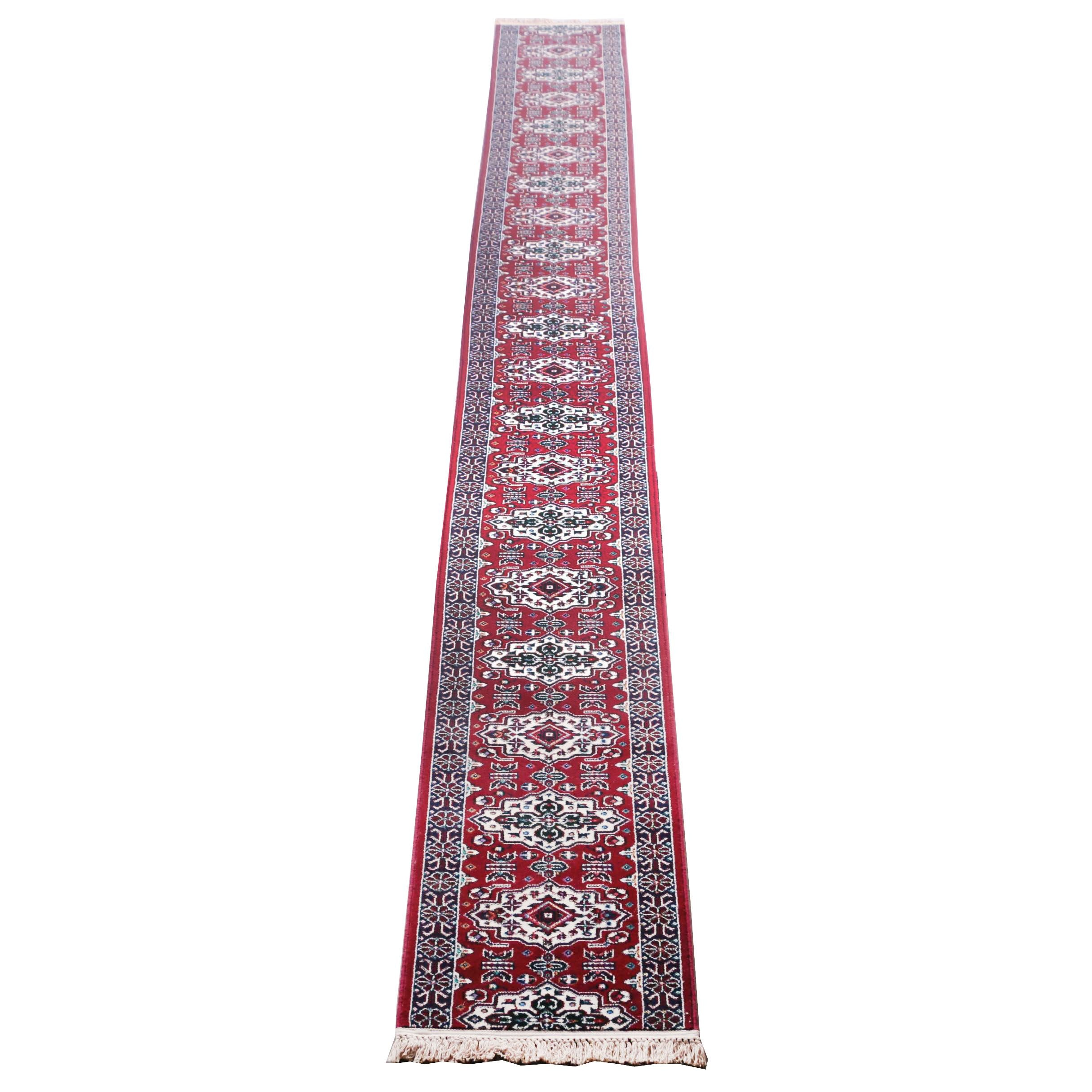 "Extra-Long Power-Loomed Sears ""Marrasheen"" Carpet Runner"