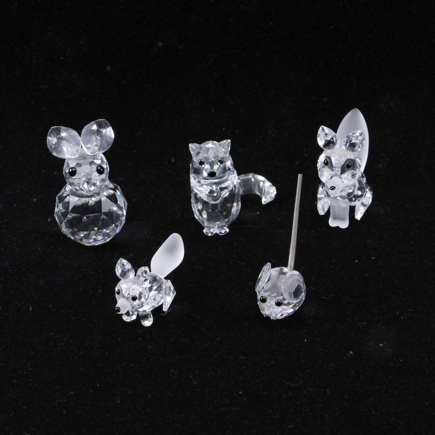 d846973b4 Swarovski Crystal Cat Figurine and More : EBTH