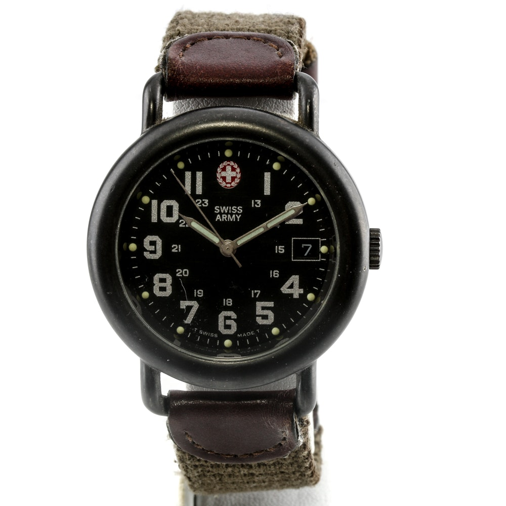 Swiss Army Stainless Steel Analog Wristwatch