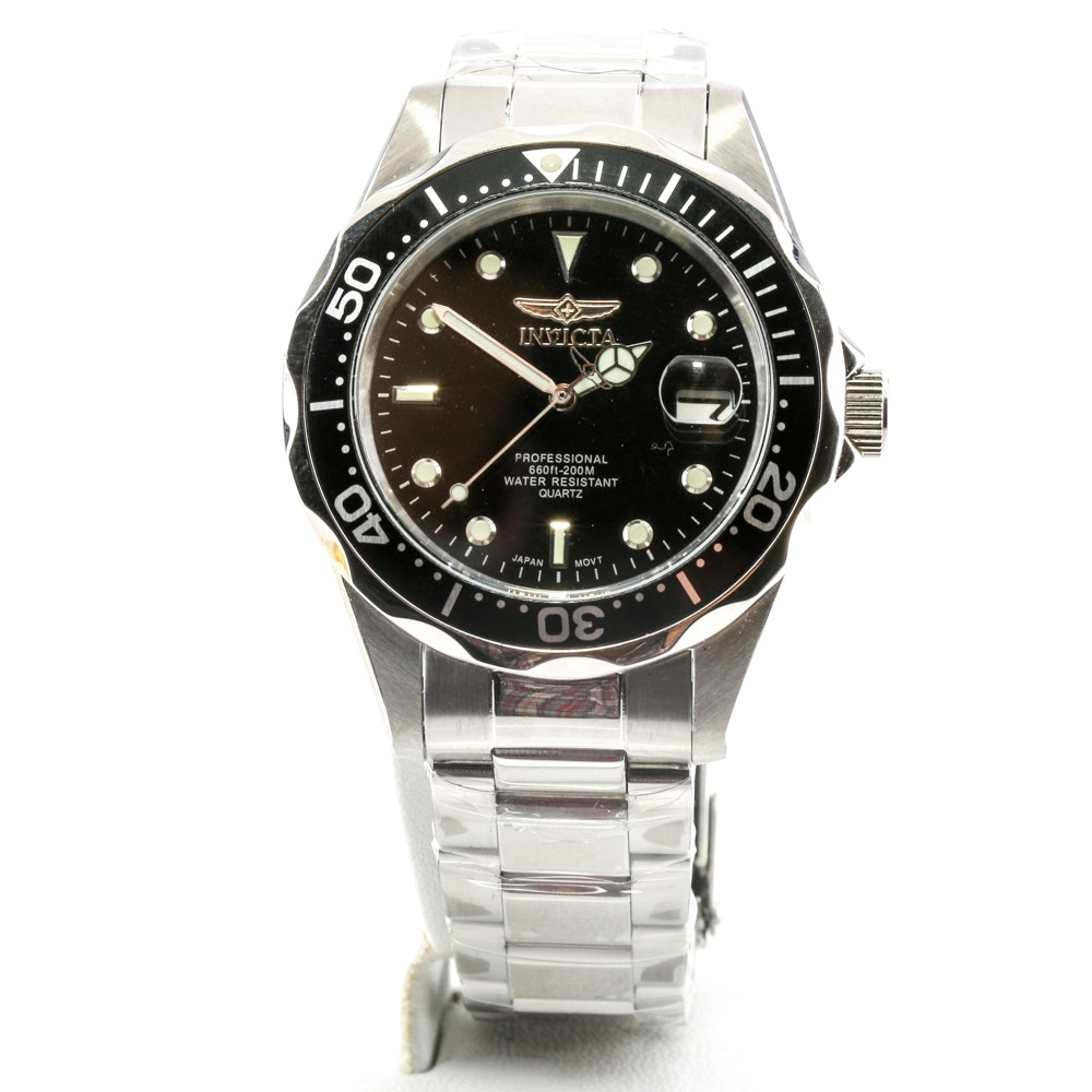 Invicta Stainless Steel Analog Wristwatch
