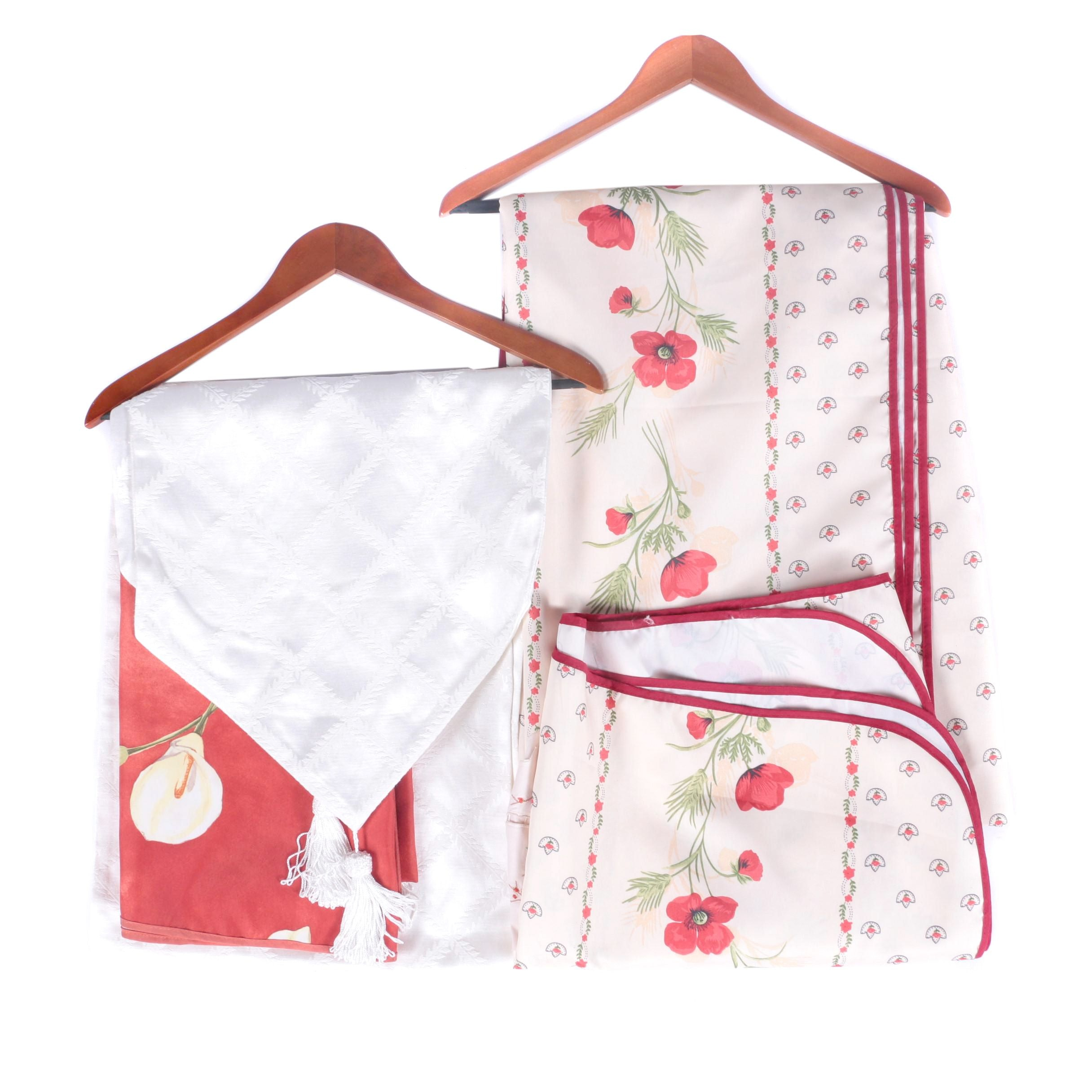 Table Liner and Tablecloth