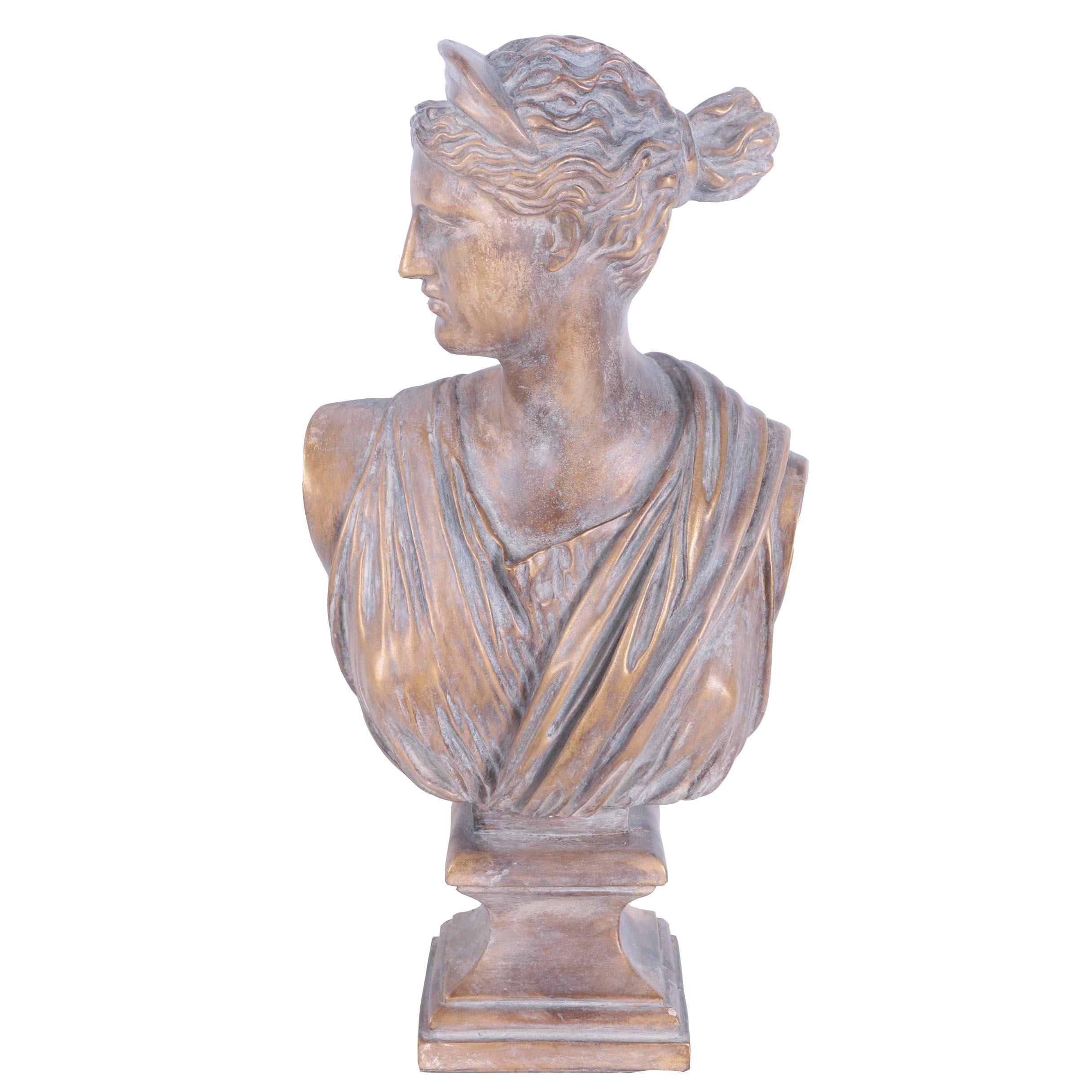 Decorative Greco-Roman Replica Female Bust