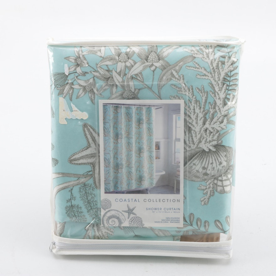 Coastal Collection Shower Curtain