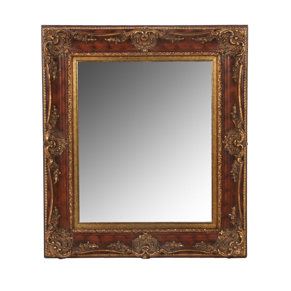 Wall Mirror In Ornate Frame